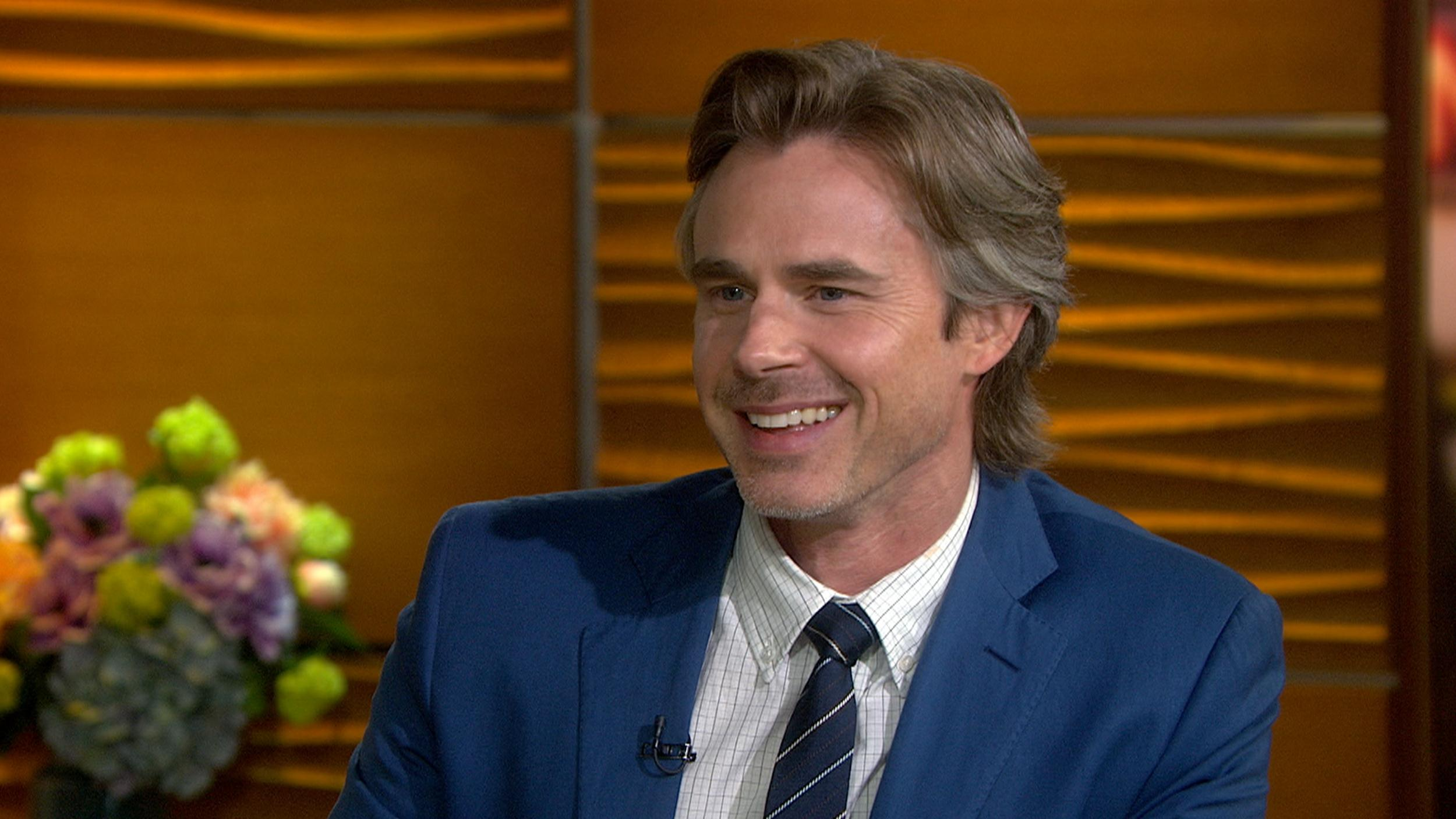 Sam Trammell I Get to Keep My Clothes on in Fault in