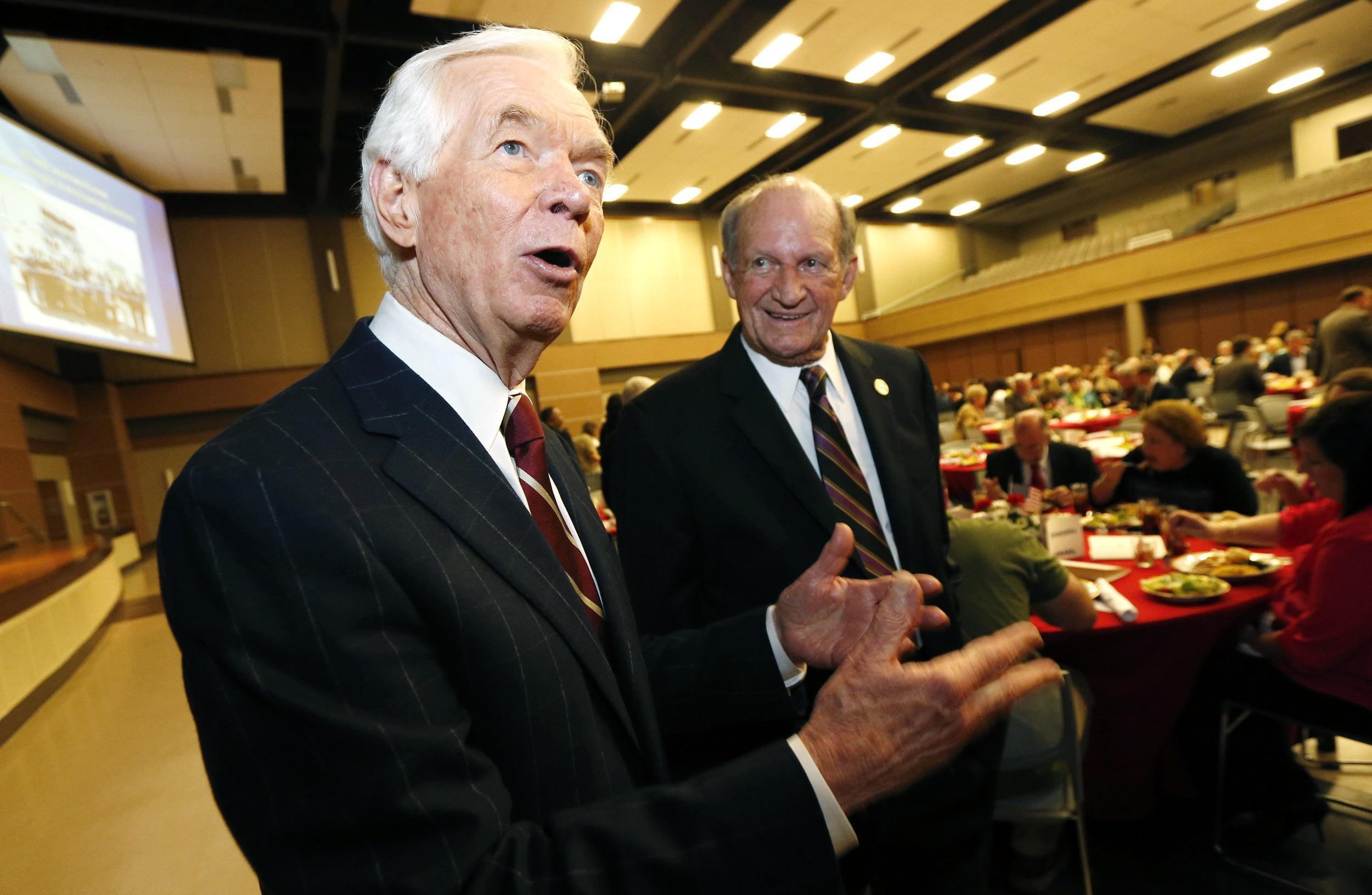 Image: Thad Cochran, Ray Rogers