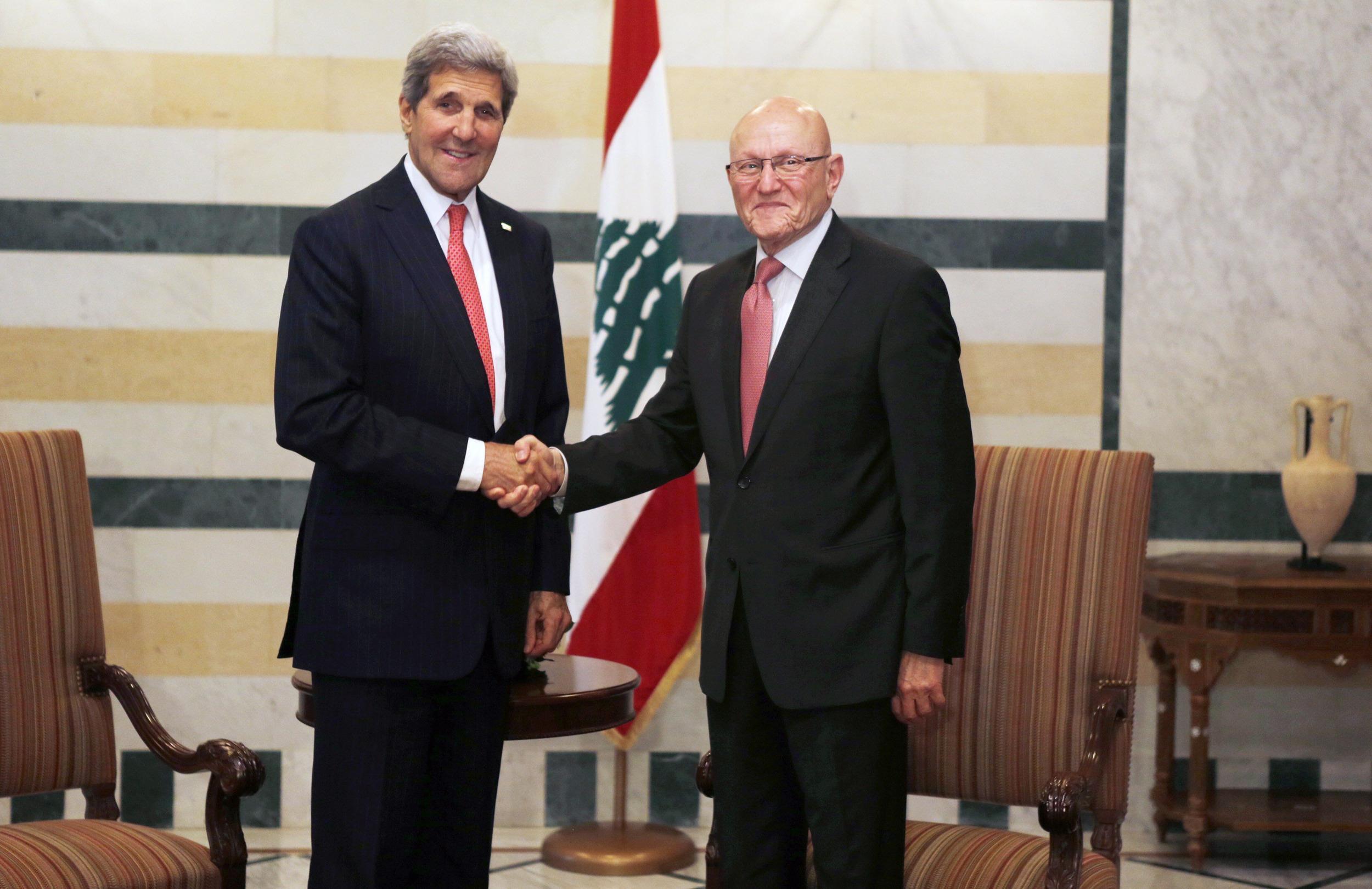 Image: LEBANON-US-DIPLOMACY-SYRIA