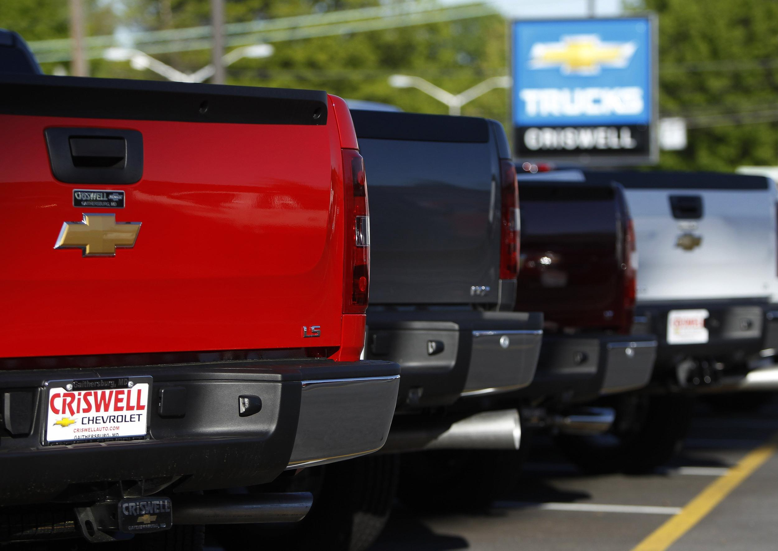 General Motors' sales jumped 12.6% in May, a sign the automaker is driving away from the setback of recalling millions of vehicles.