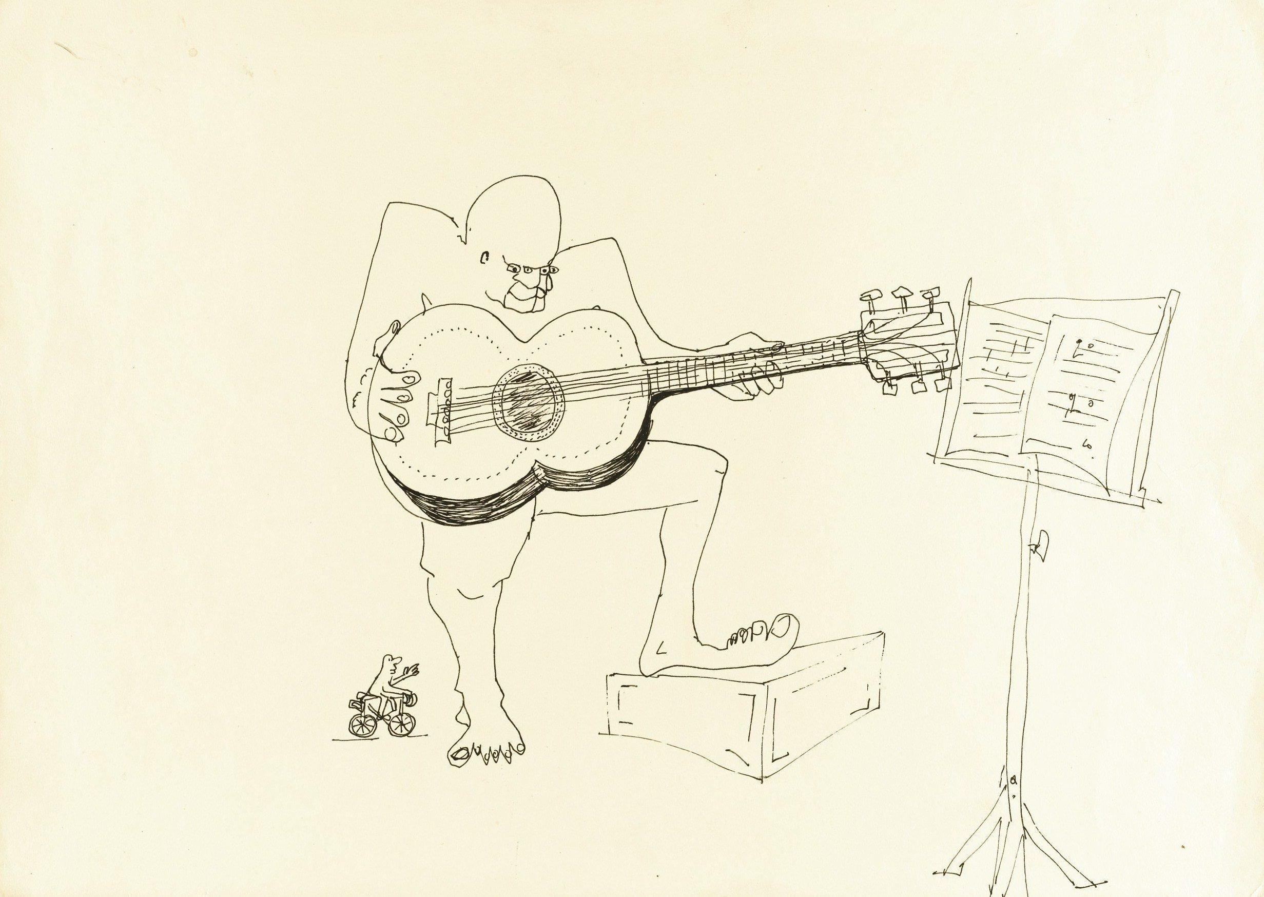 Imagine John Lennon Sketches And Writings Fetch 2 9m At Auction