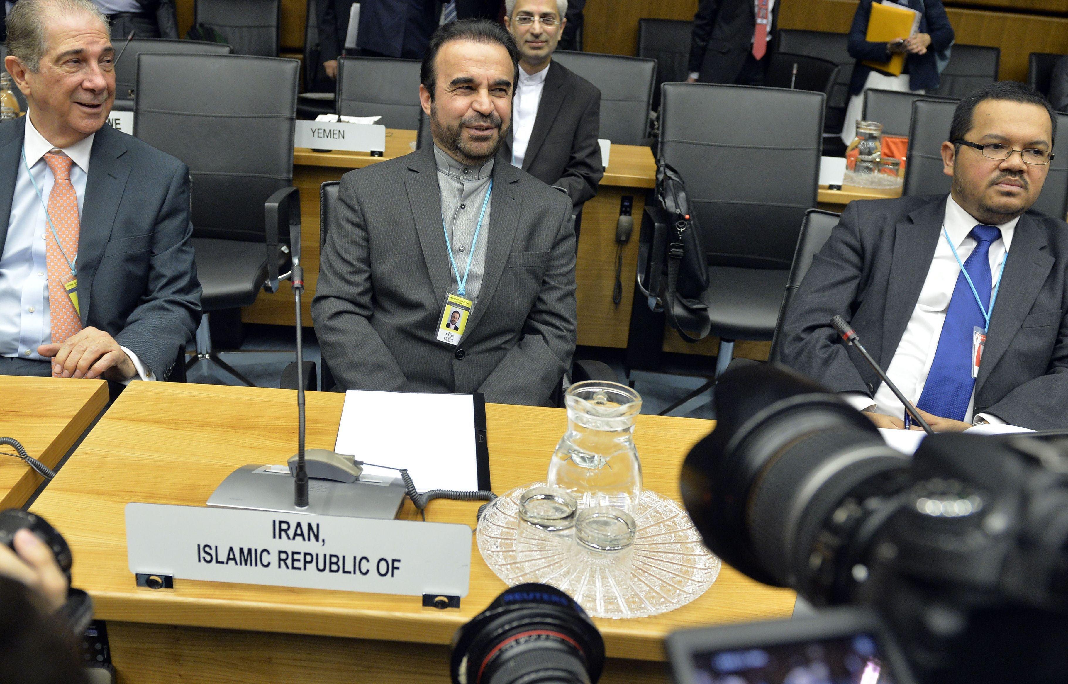 Image: AUSTRIA-IRAN-NUCLEAR-POLICY-IAEA