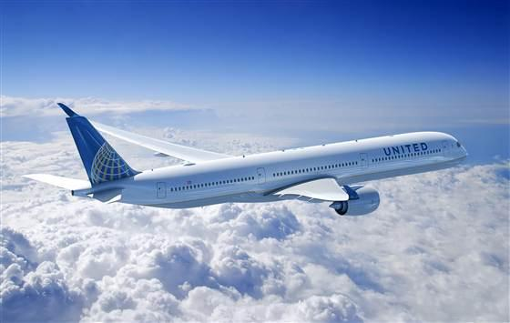 Image: United Airlines plane