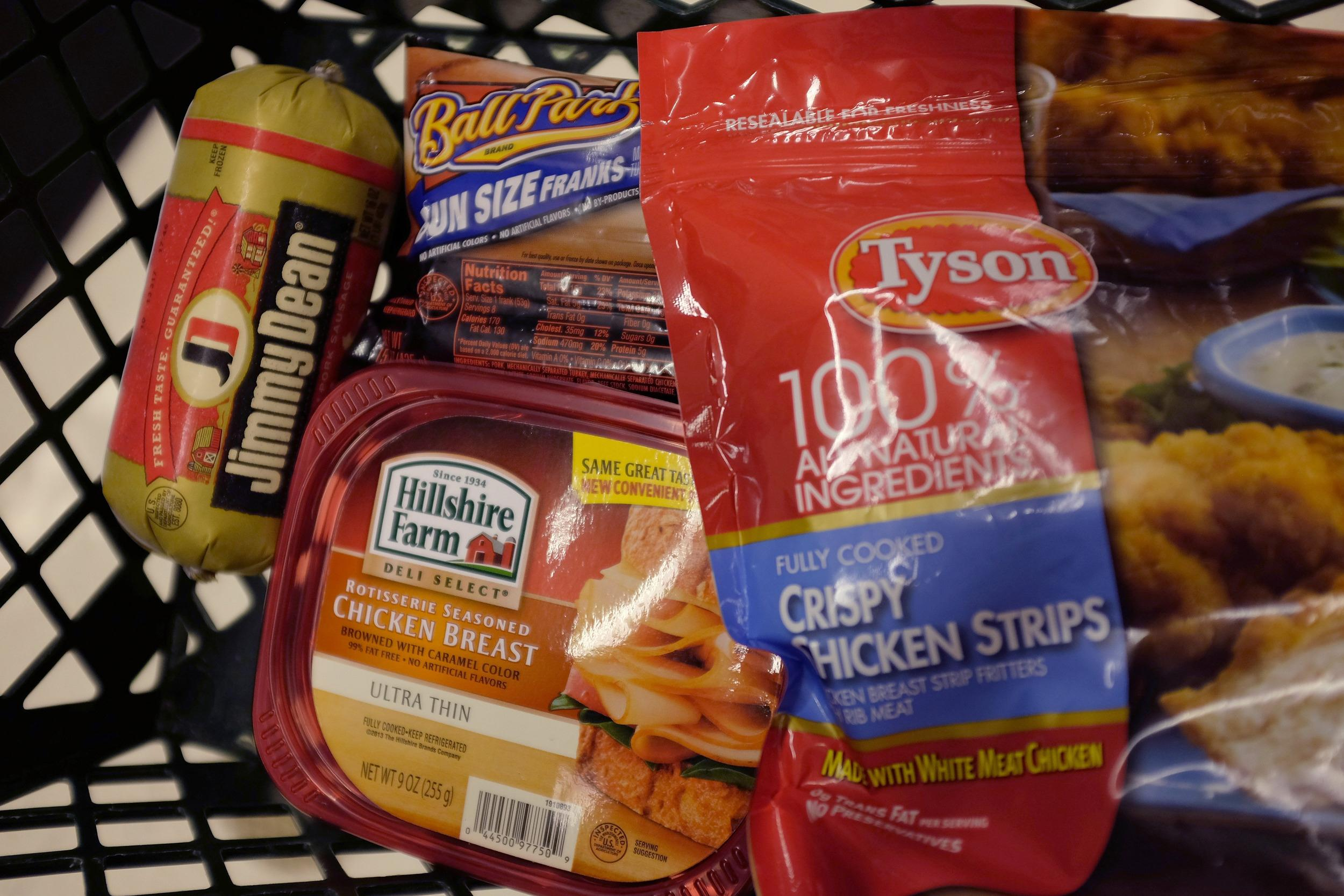 Tyson Foods wins bid For Hillshire Farms, the maker of Jimmy Dean sausages.