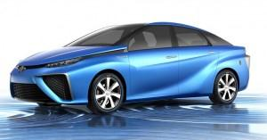 Toyota unveiled its FCV hydrogen concept vehicle at the Tokyo Motor Show last year.