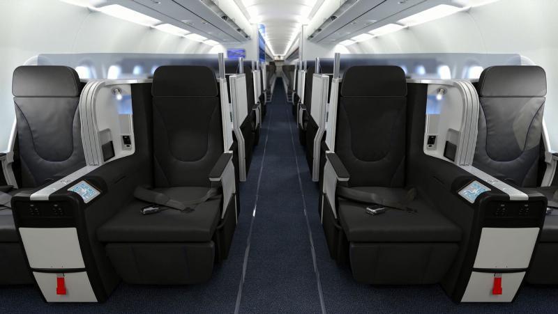 Image: JetBlue Mint seats
