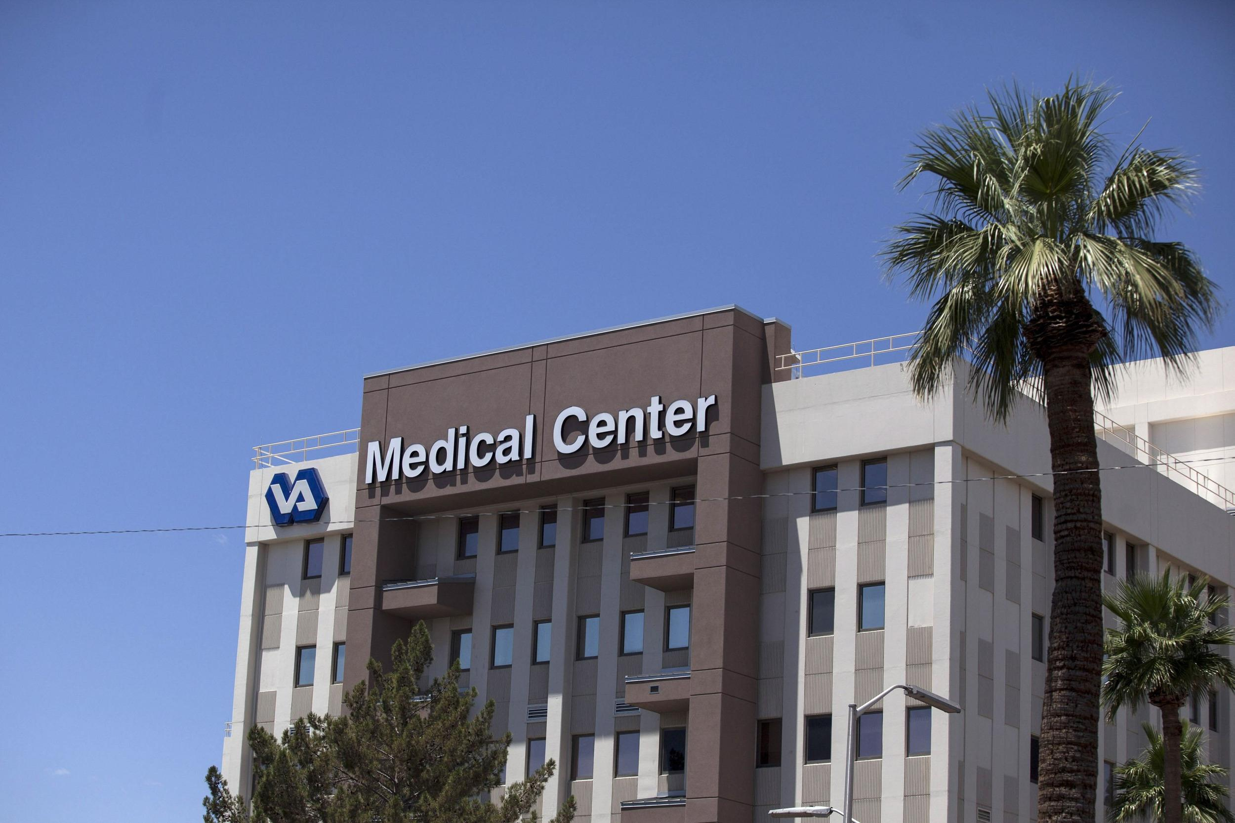 Image: Carl T. Hayden VA Medical Center is pictured in Phoenix