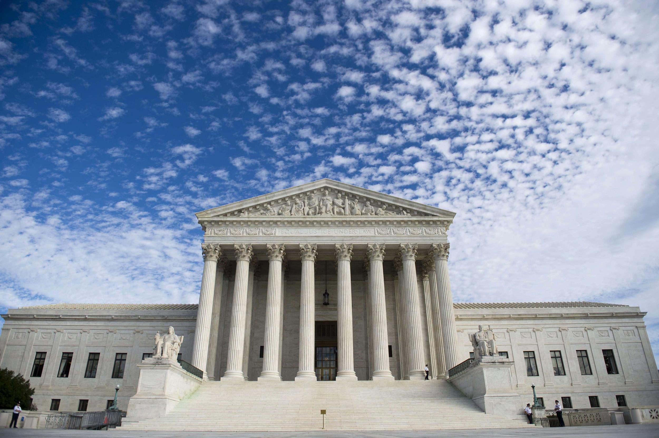 Image: The U.S. Supreme Court in Washington