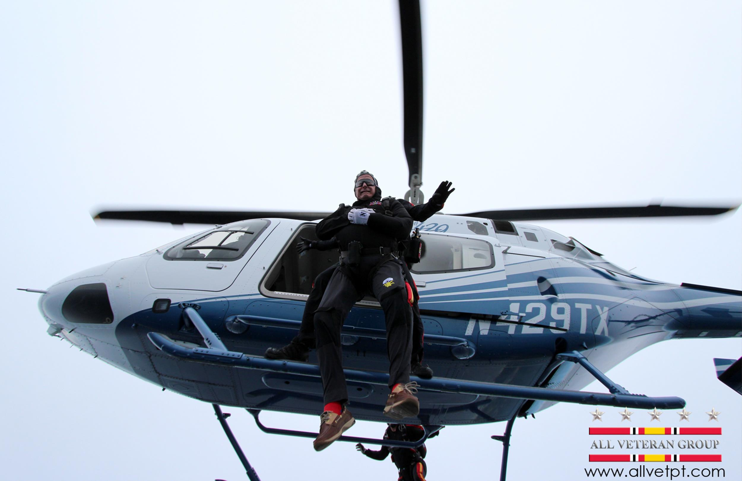 Image: George H.W. Bush celebrates 90th by skydiving in Kennebunkport, Maine