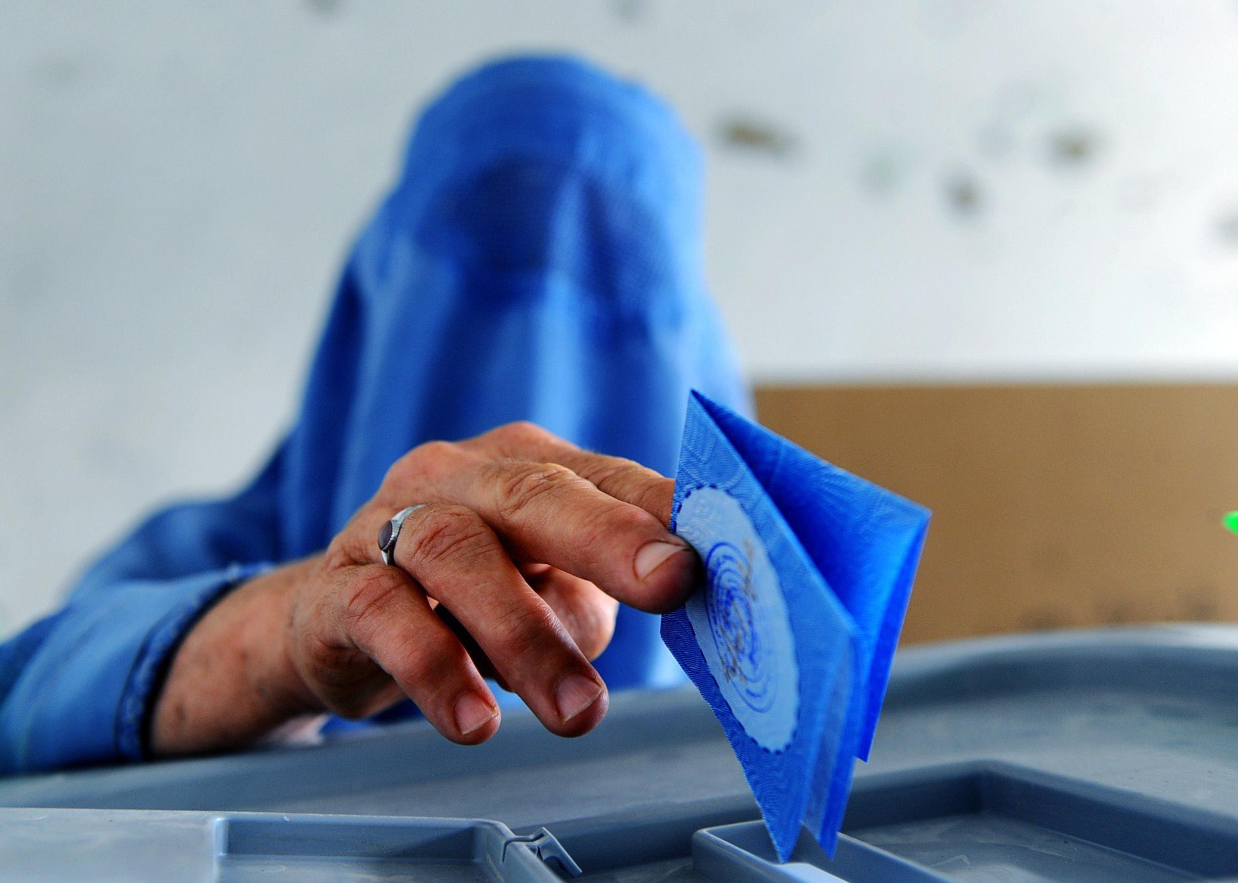 Image: AFGHANISTAN-ELECTION
