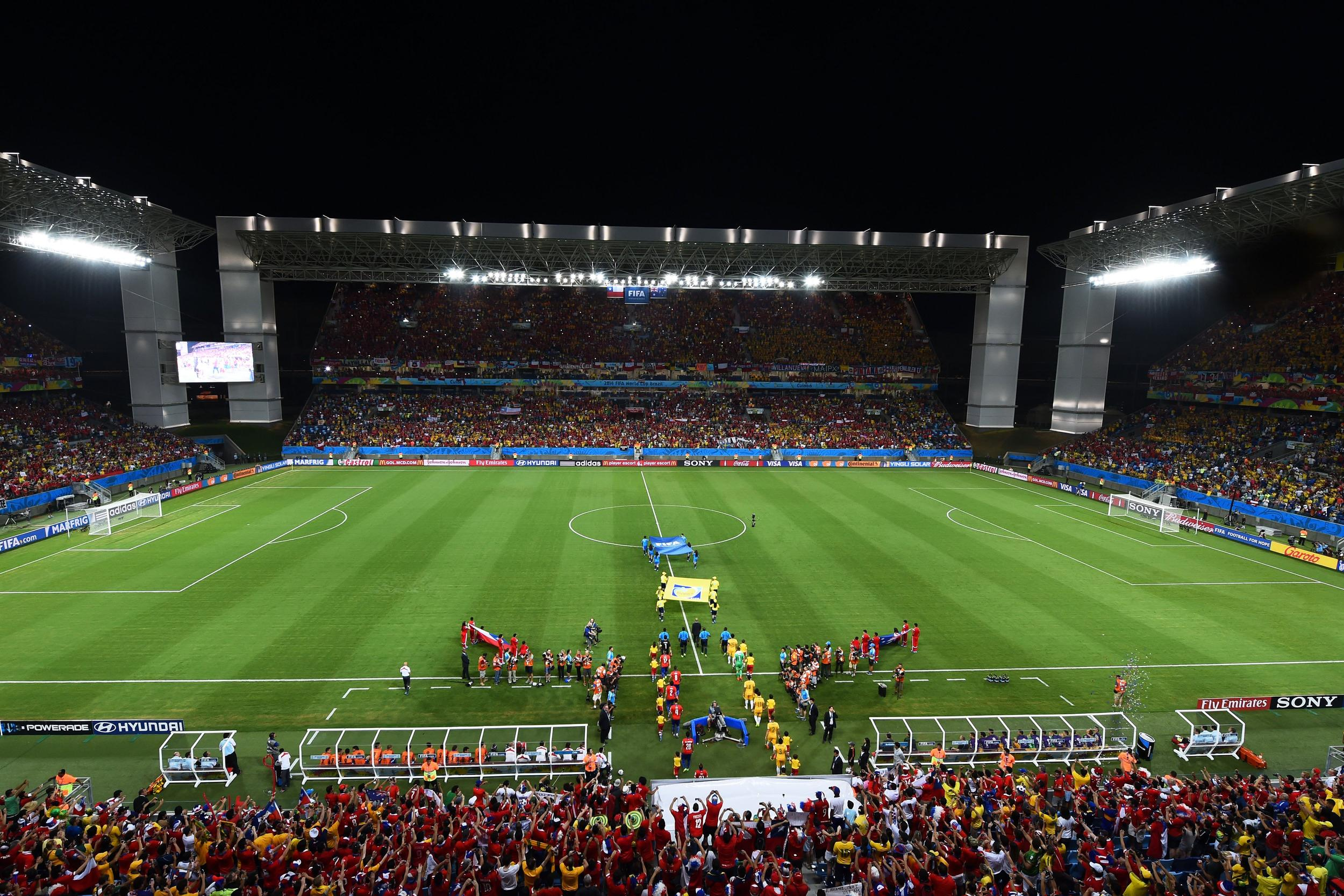 Image: Chile v Australia: Group B - 2014 FIFA World Cup Brazil