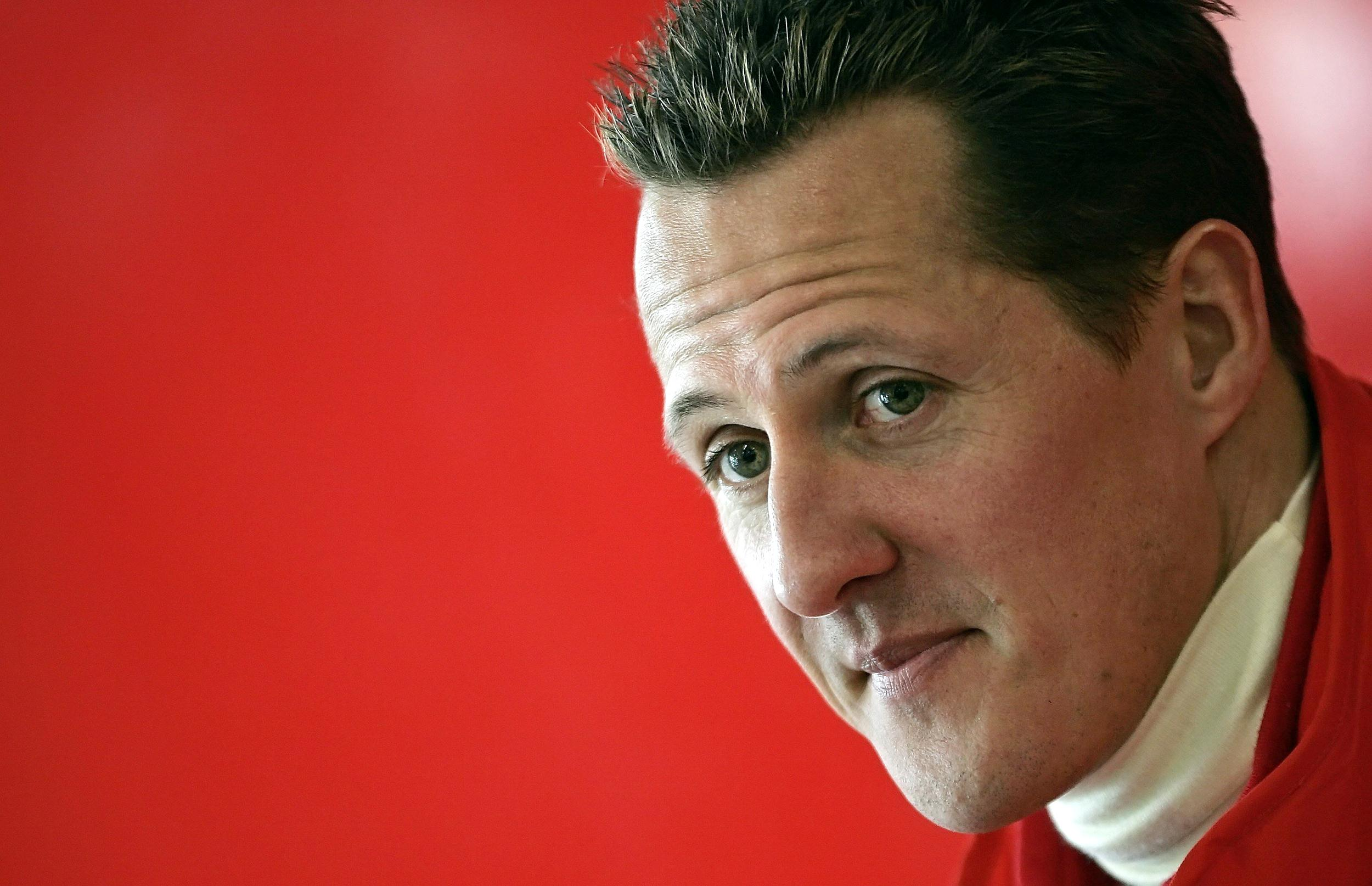 Image: File photo of Michael Schumacher of Germany in Italy