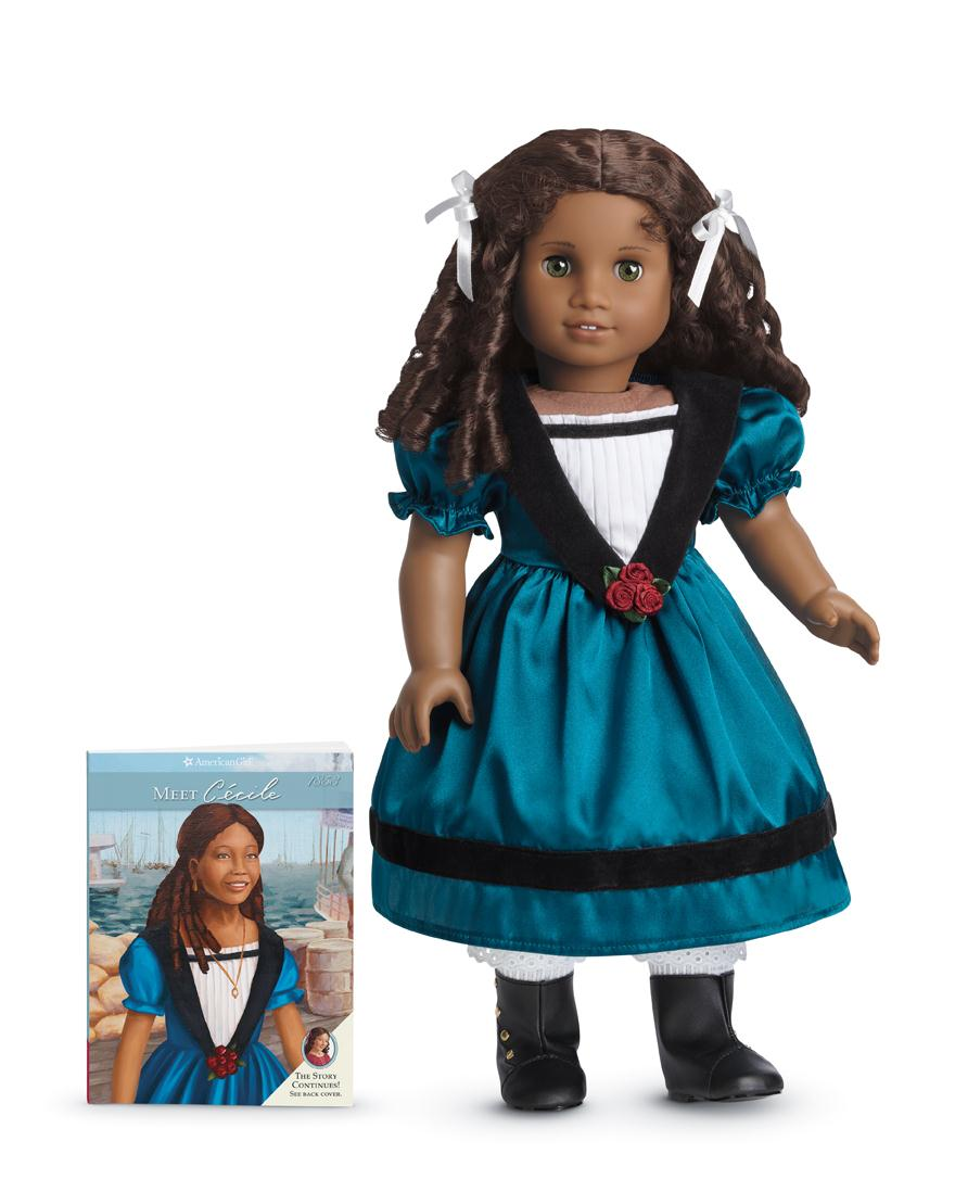 Cecile Rey, one of four dolls being discontinued by American Girl this fall.