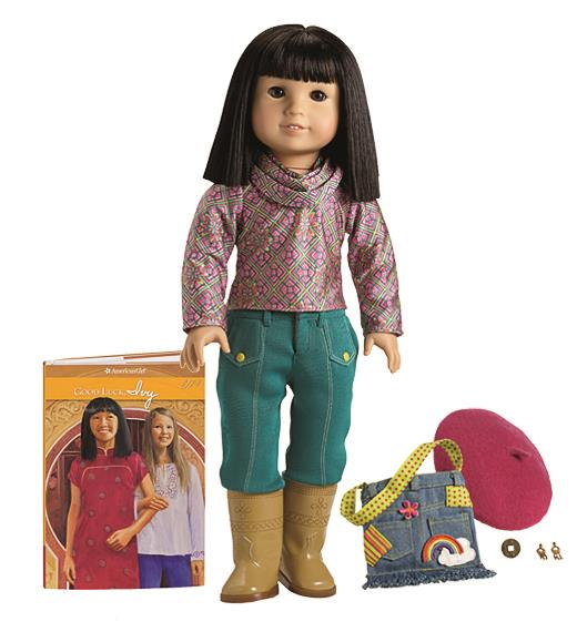 Ivy, American Girl's only Asian-American character doll in the company's historical line.