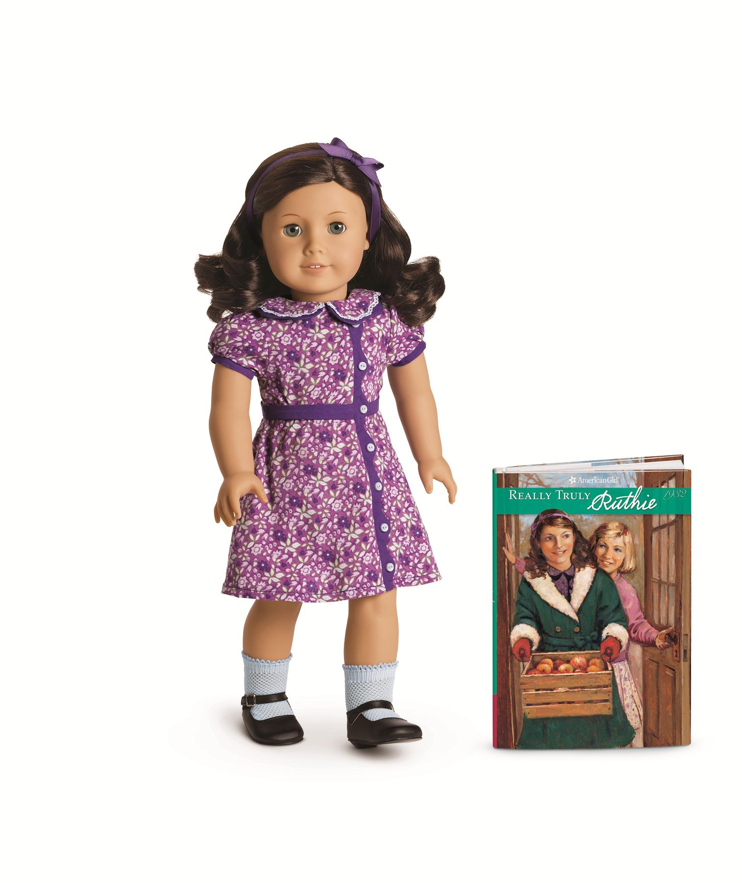 Ruthie, an American Girl doll whose story is set in the Great Depression.