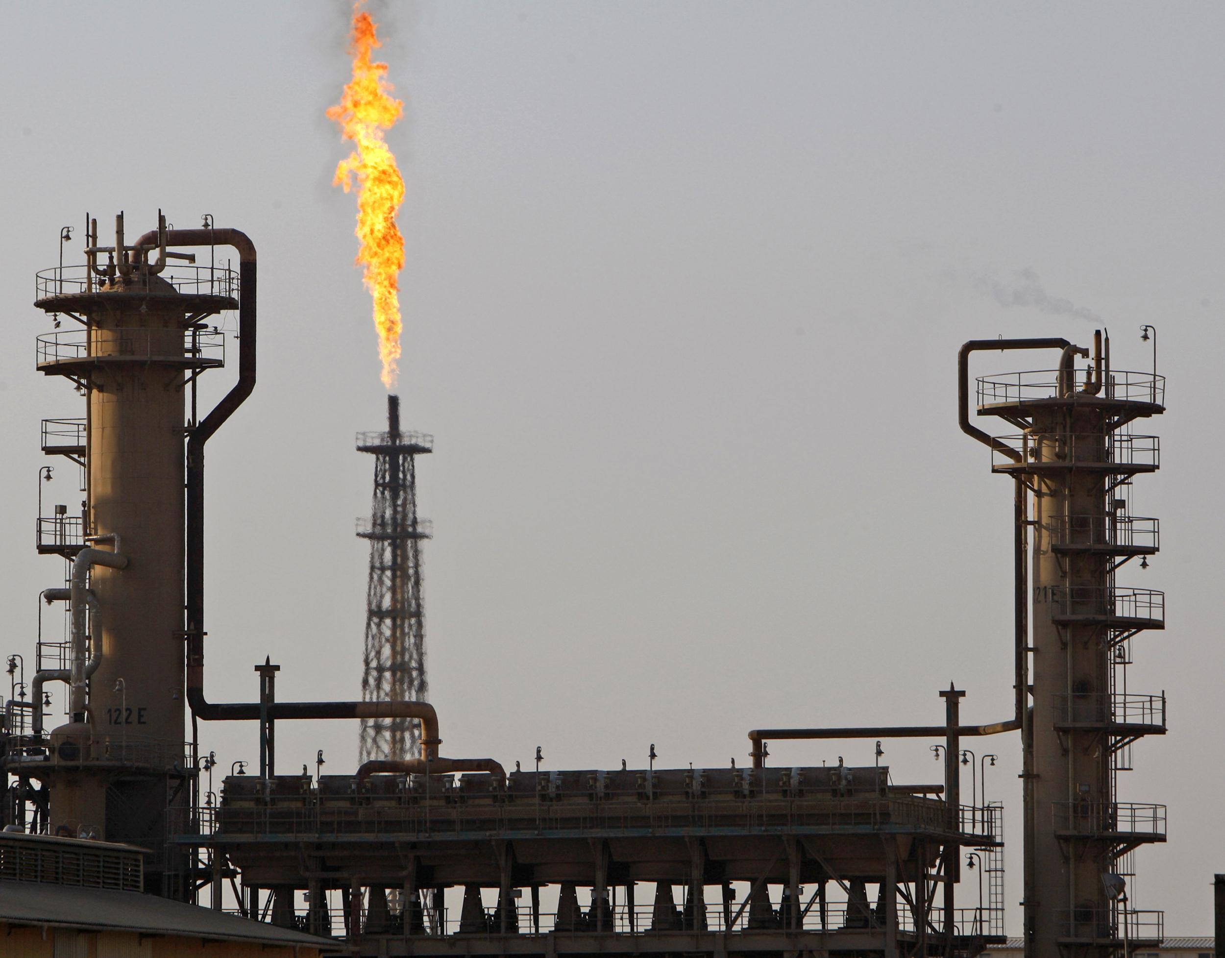 Baiji oil refinery in Iraq