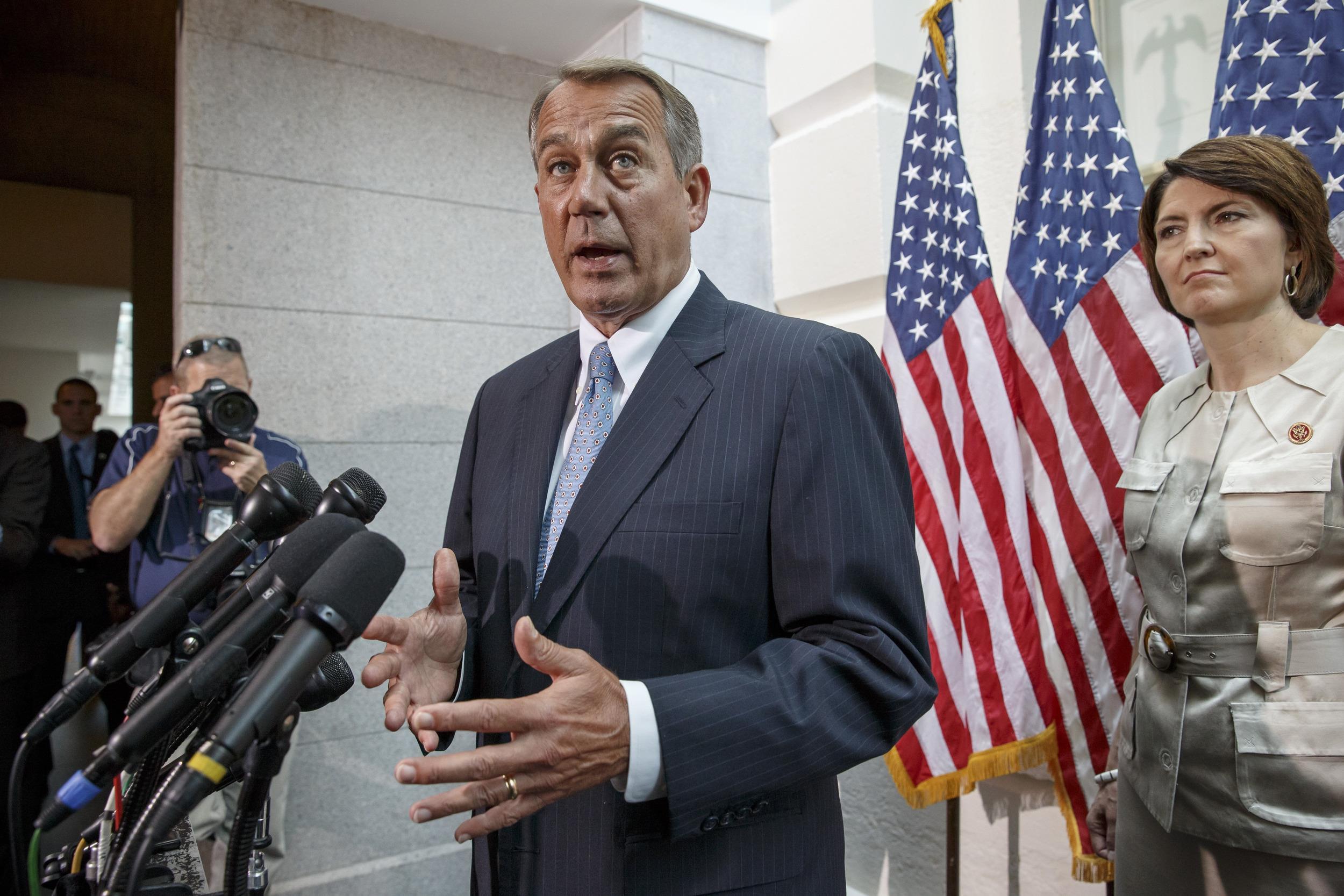 Image: John Boehner, Cathy McMorris Rodgers