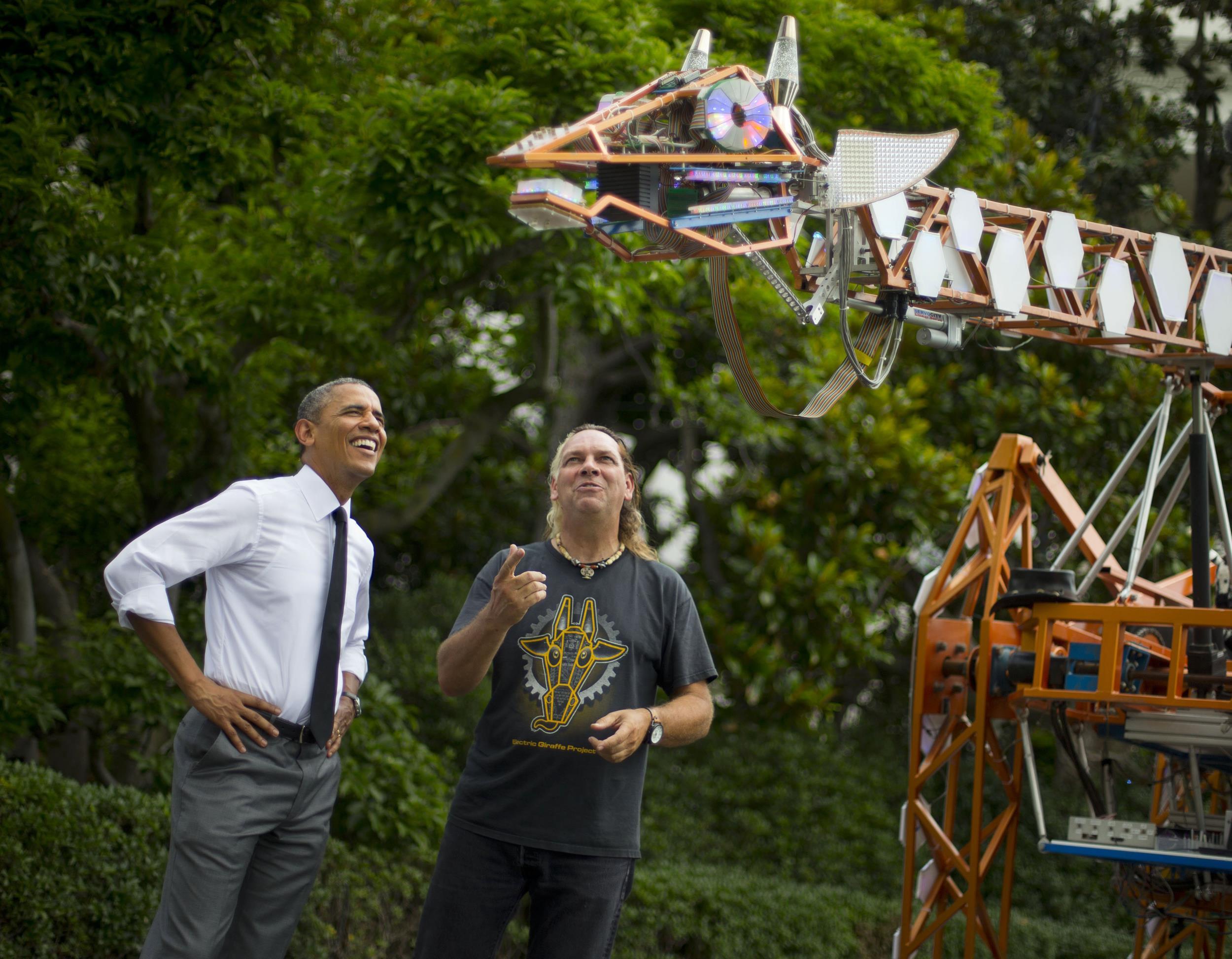 Image: Barack Obama, Lindsay Lawlor