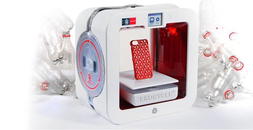 Image: Ekocycle Cube 3-D printer