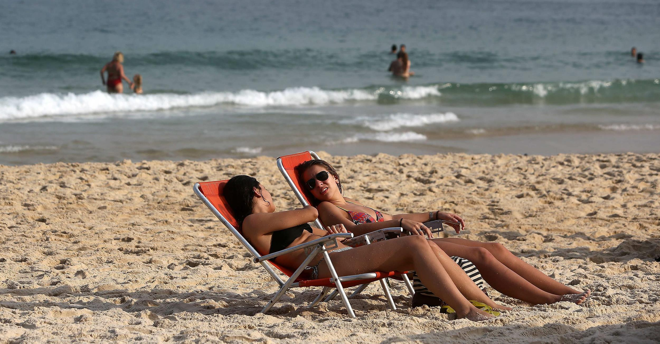 People at The Beach Tanning You May be a Tanning People