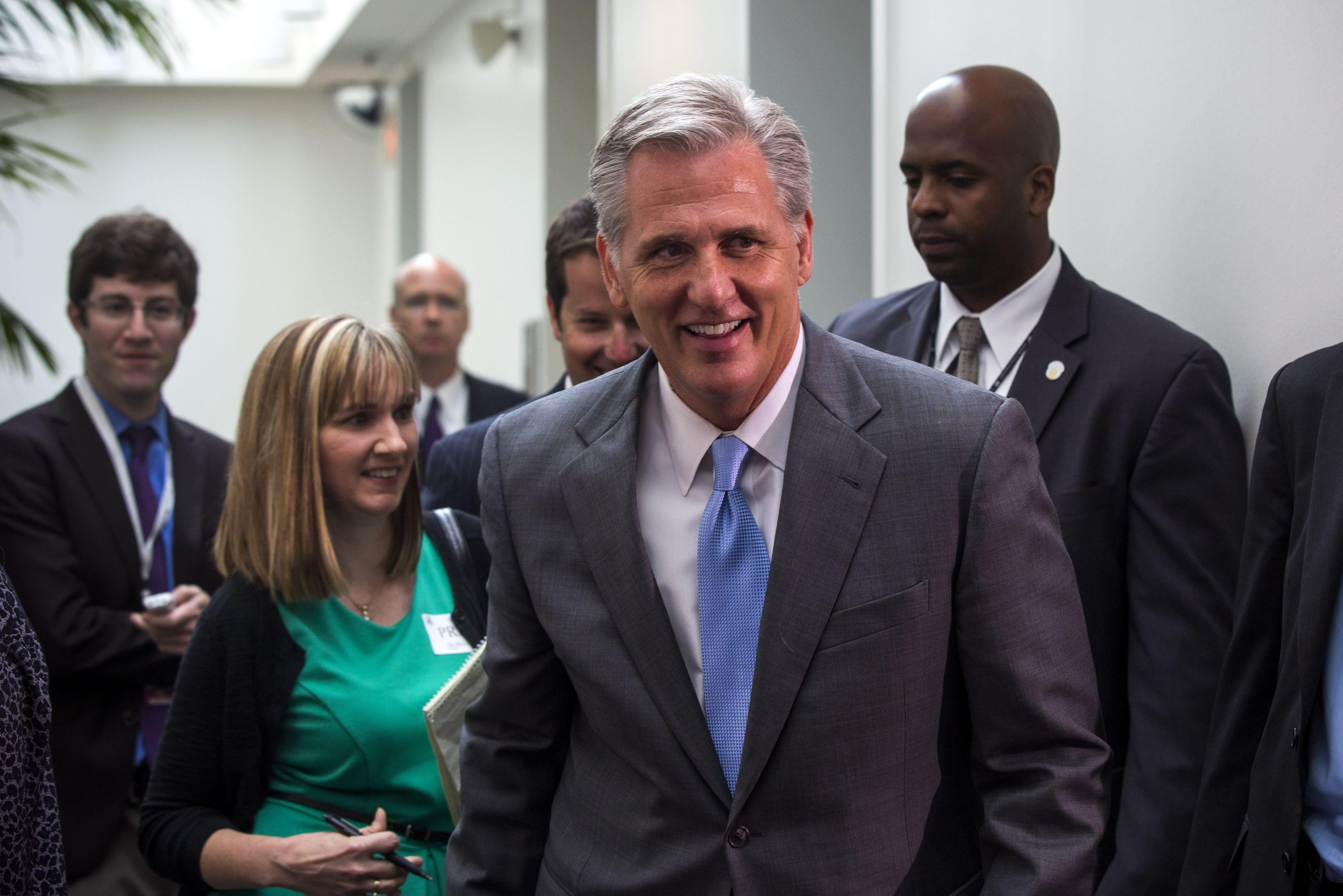 Image: Kevin McCarthy Attends Leadership Meeting at Capitol