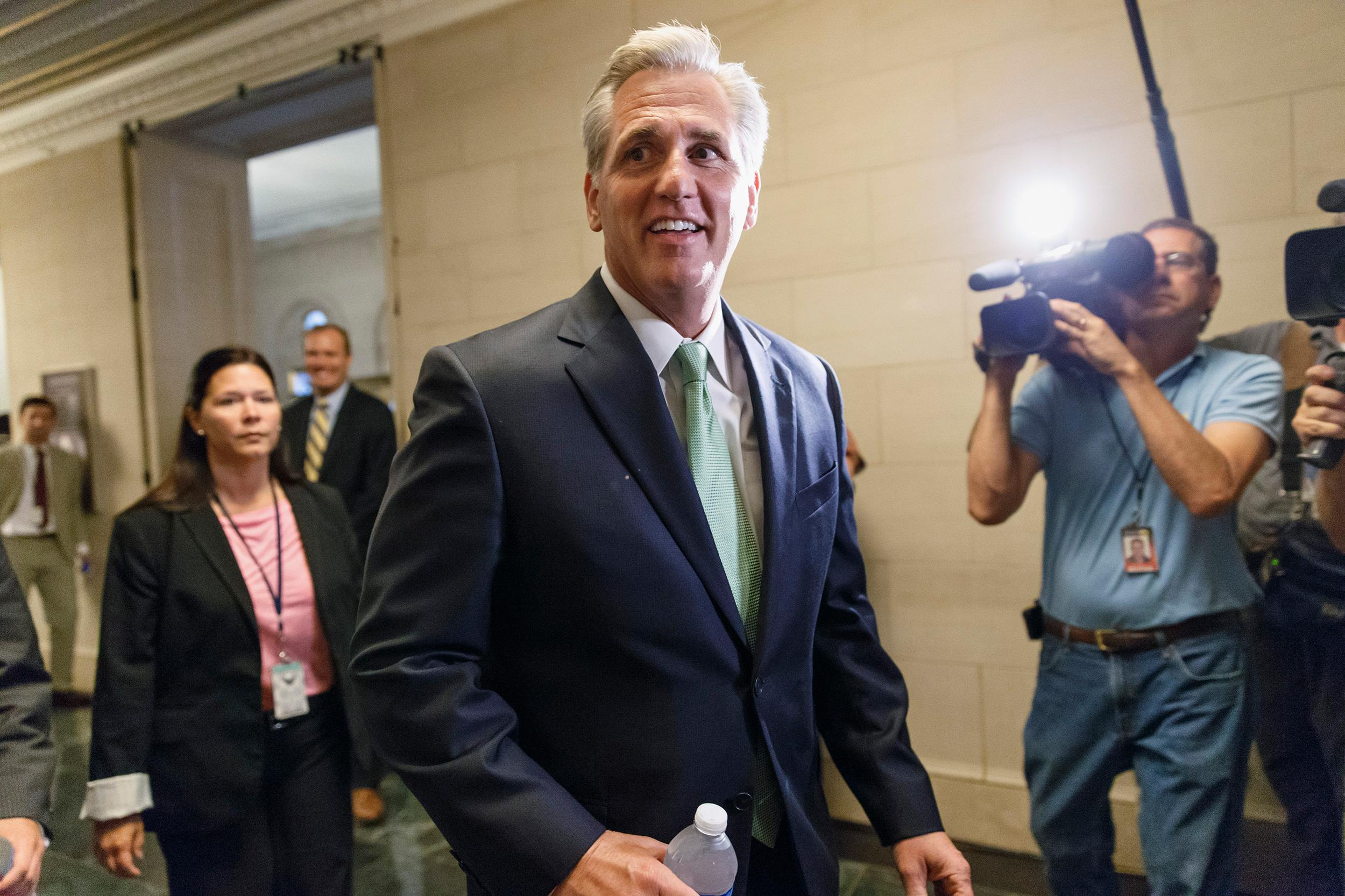 Image: House Majority Whip Kevin McCarthy of Calif.