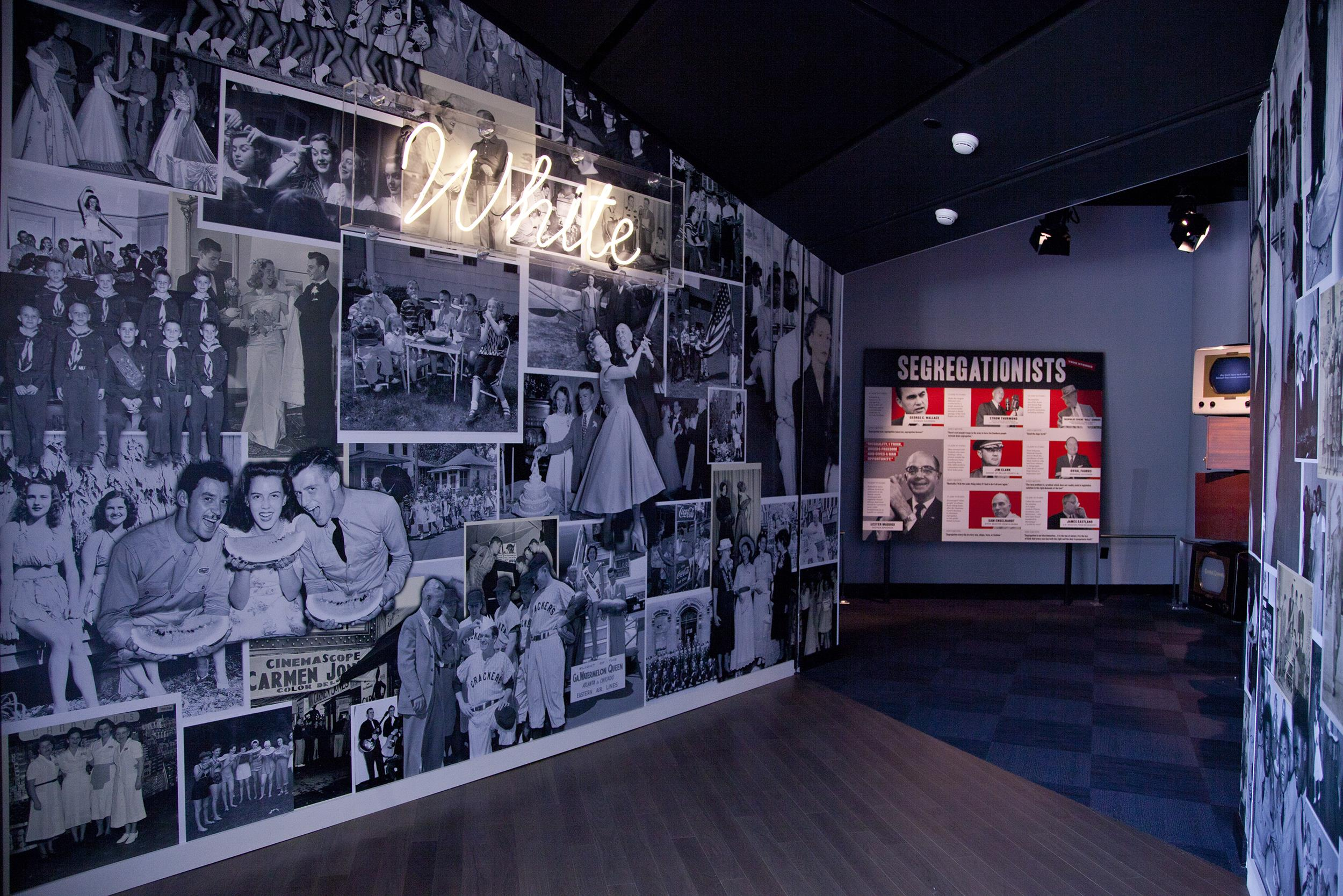 Image: A new civil rights museum officially opened to the public on June 23 in Atlanta, Ga.