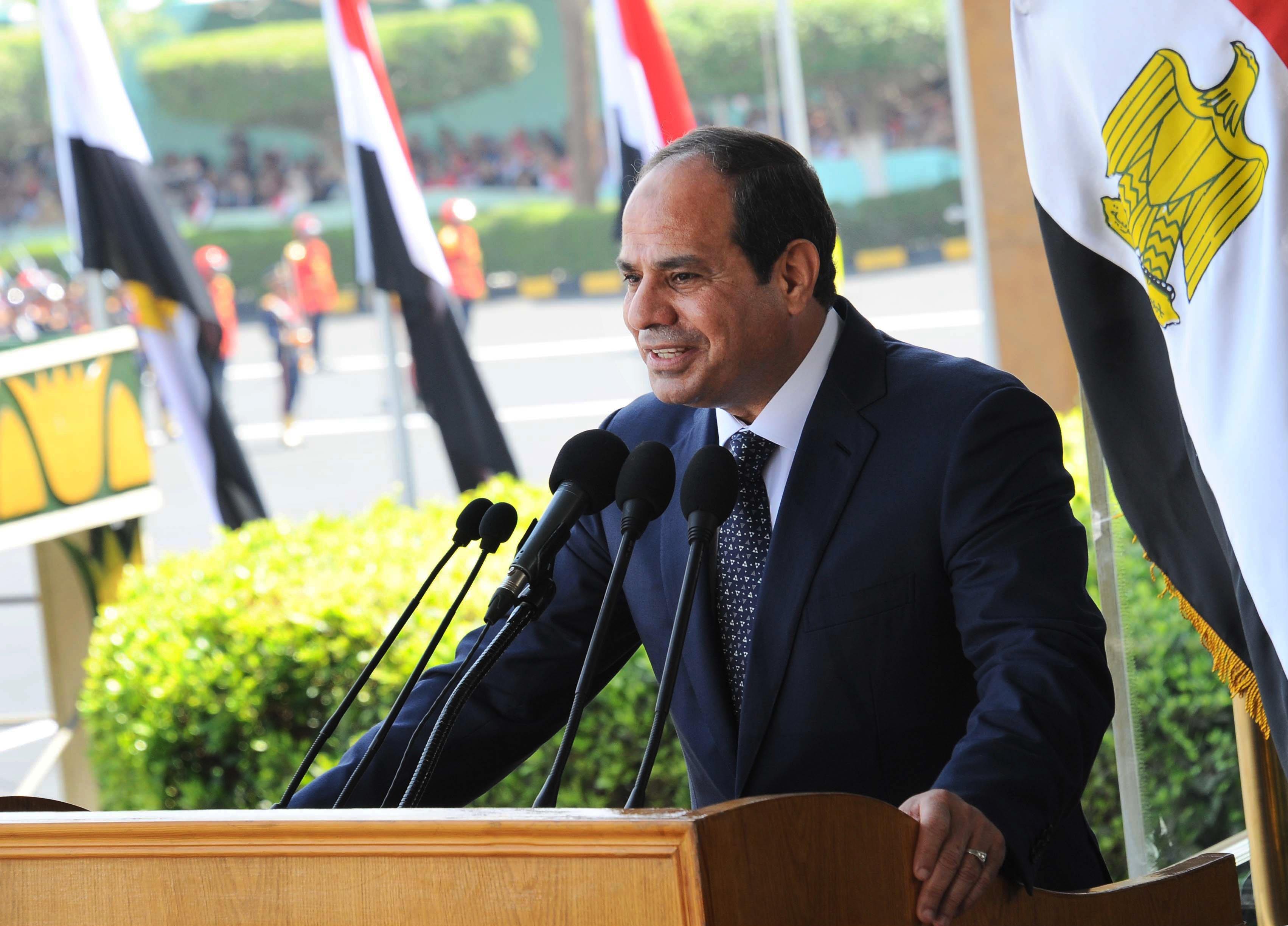 Image: Abdel-Fattah el-Sissi