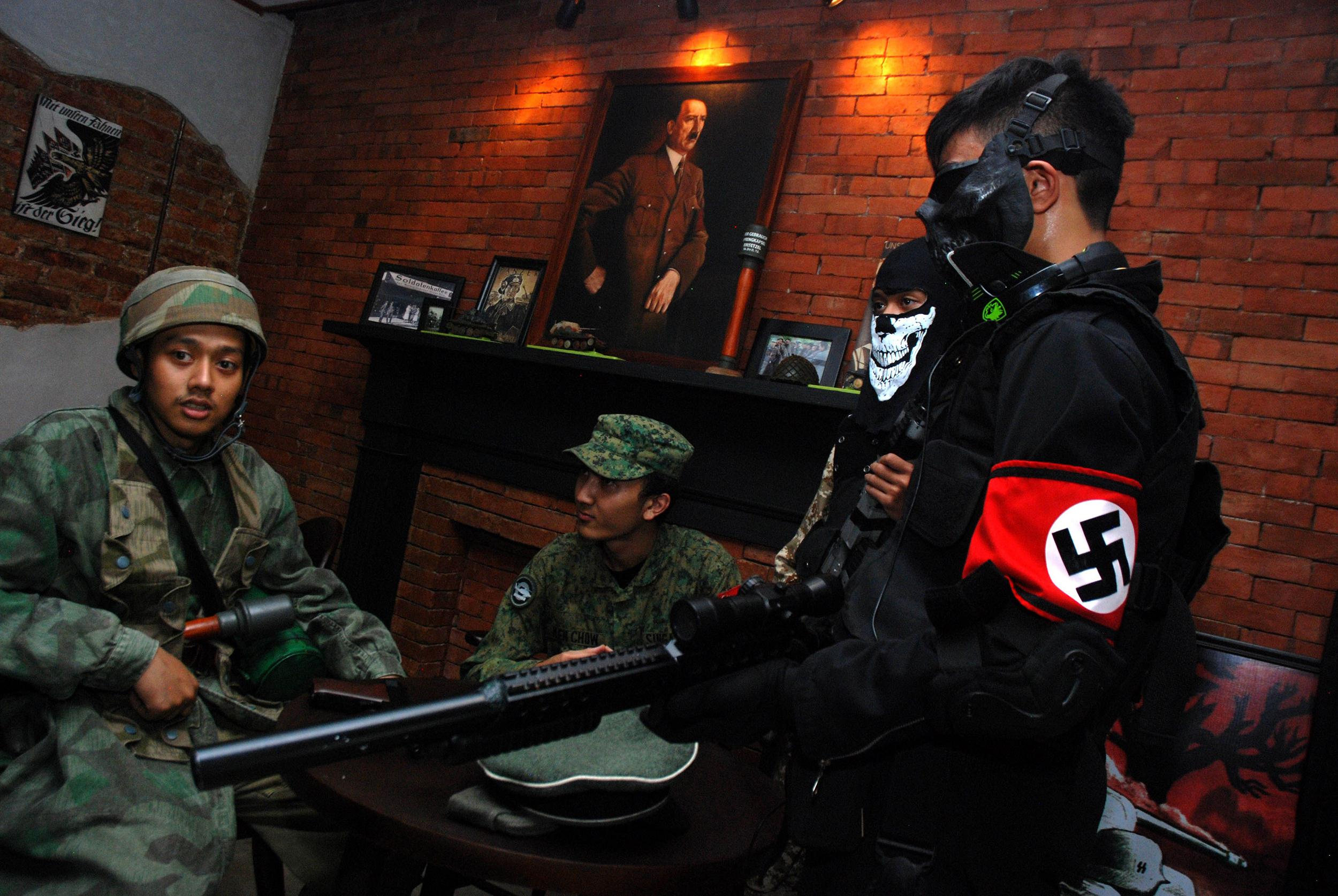 Indonesia's Nazi-Themed SoldatenKaffee Reopens as WWII Cafe
