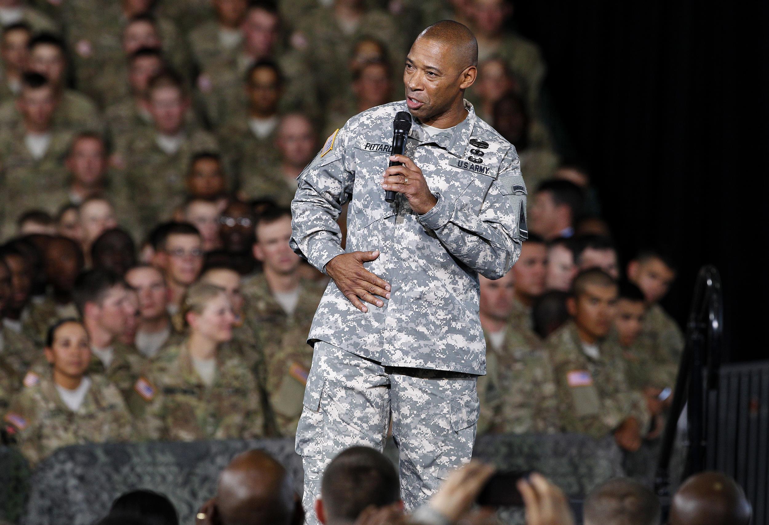 Image: Major General Dana J.H. Pittard in 2012