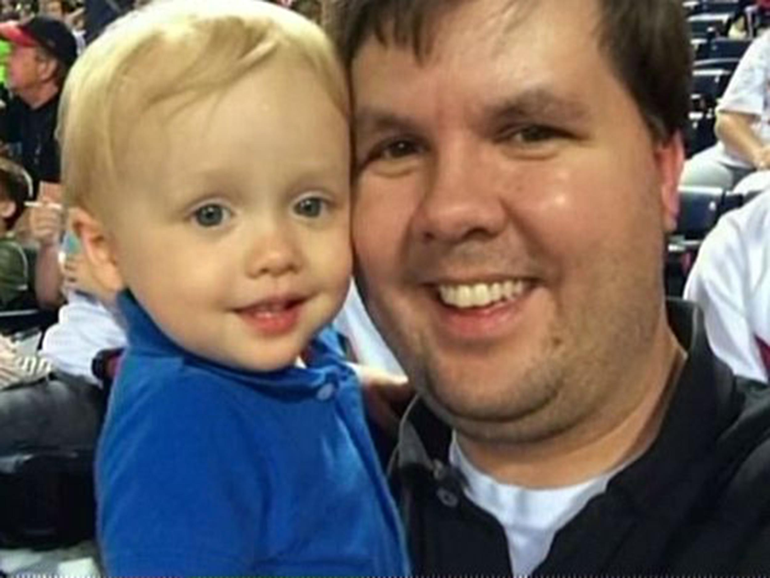 Image:  Justin Ross Harris and his son Cooper
