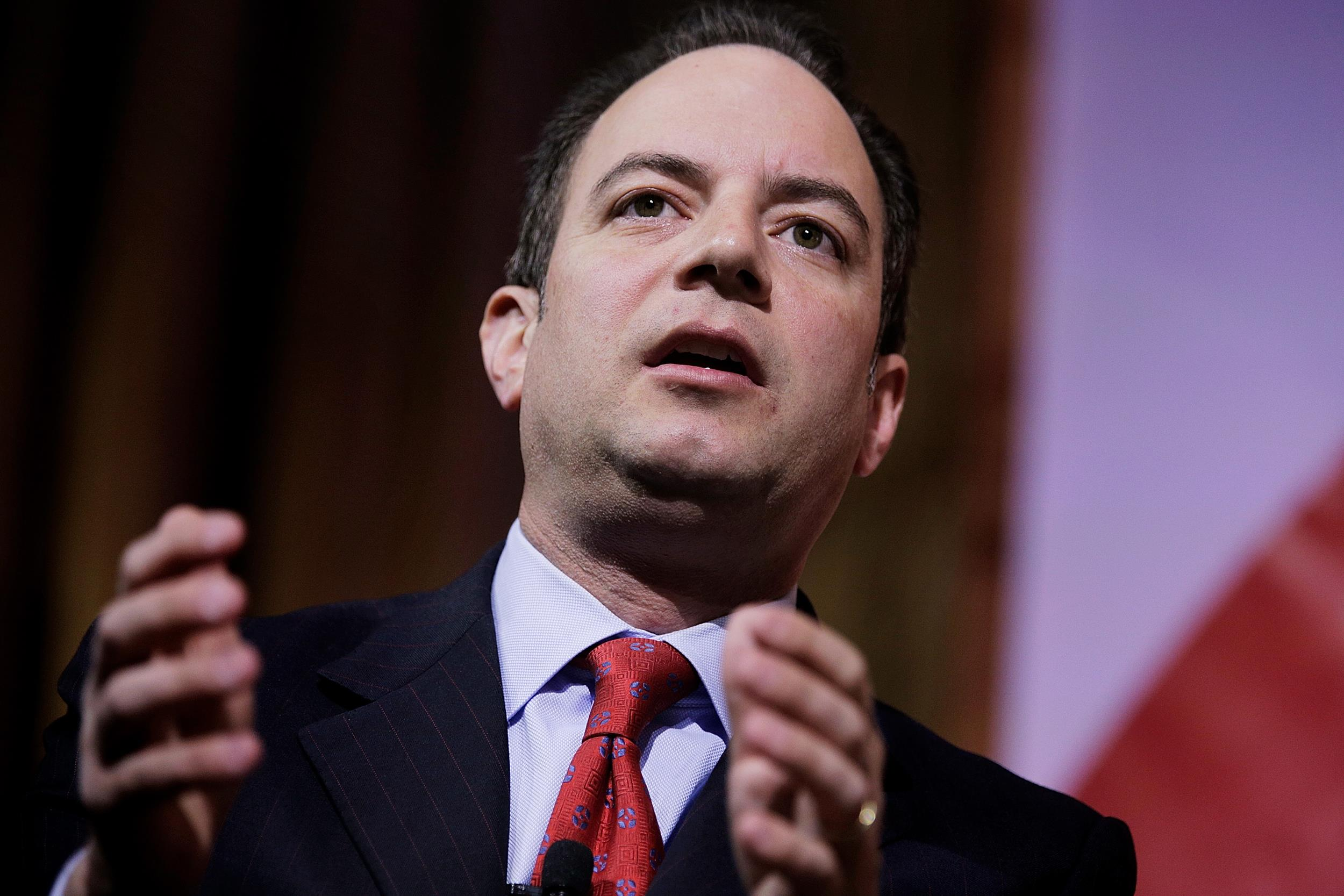 Image: Reince Priebus, chairman of the Republican National Committee