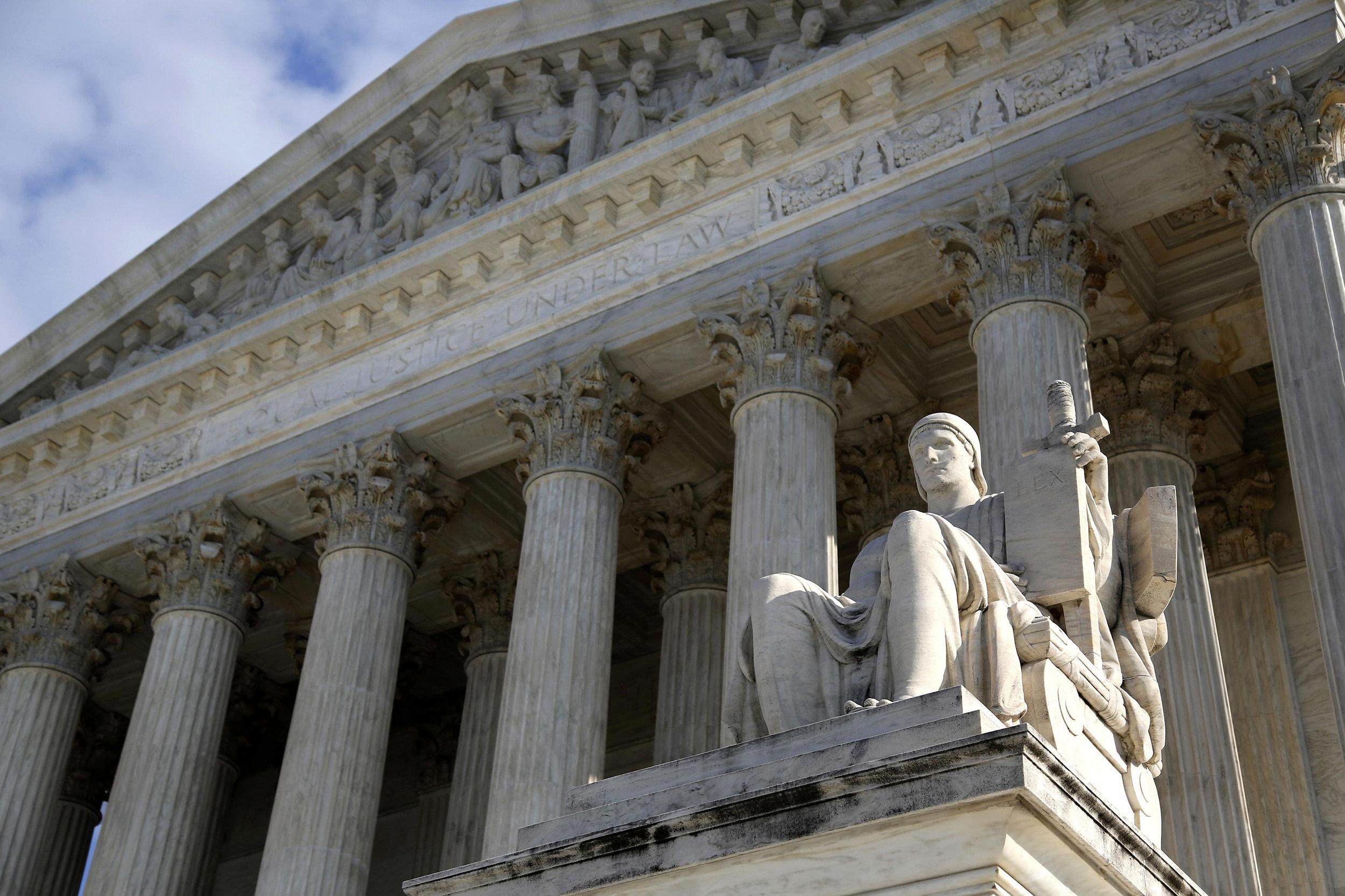 Image: The U.S. Supreme Court in Washington on Dec. 3, 2013.