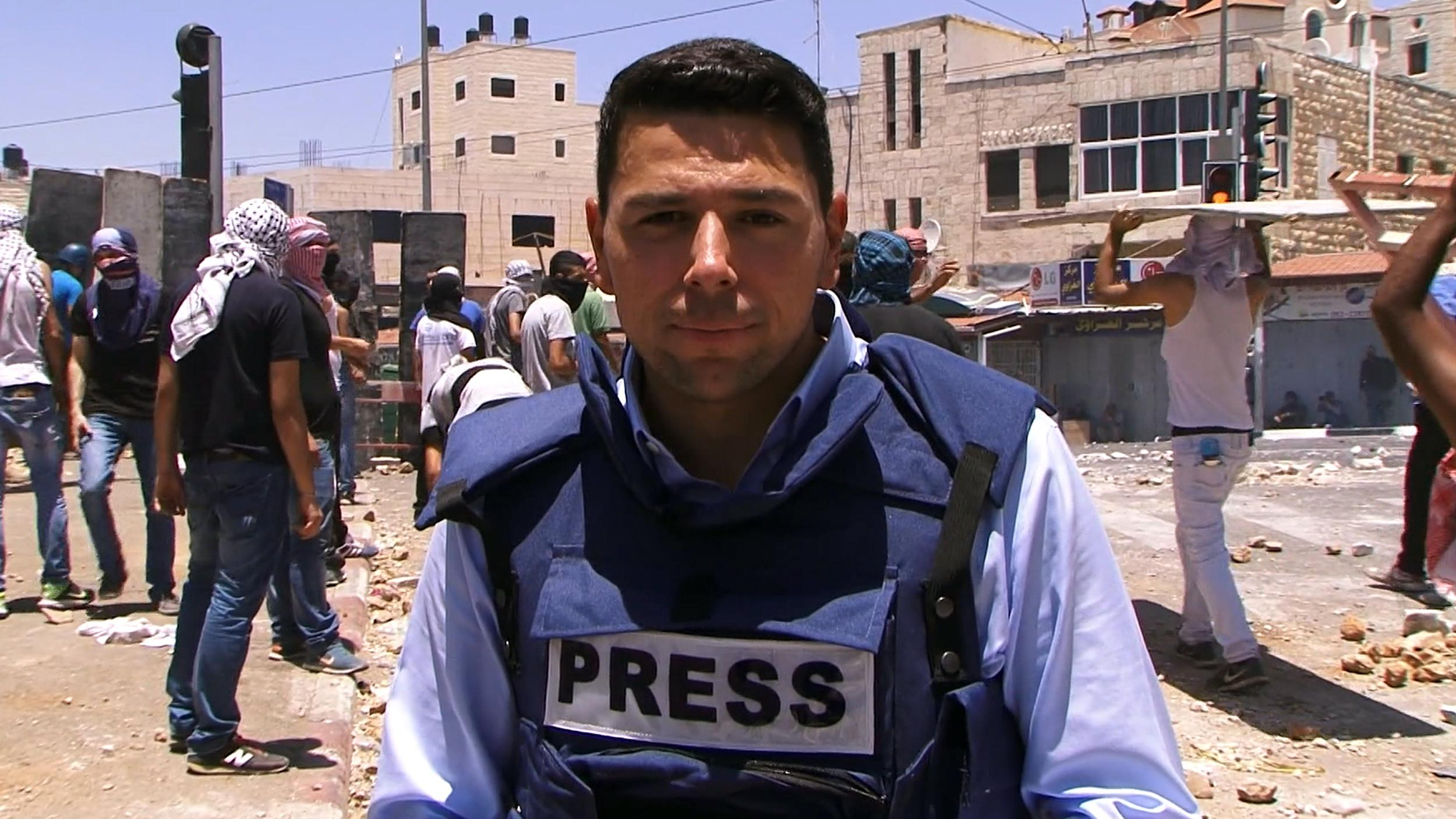 NBC News correspondent Ayman Mohyeldin in East Jerusalem.
