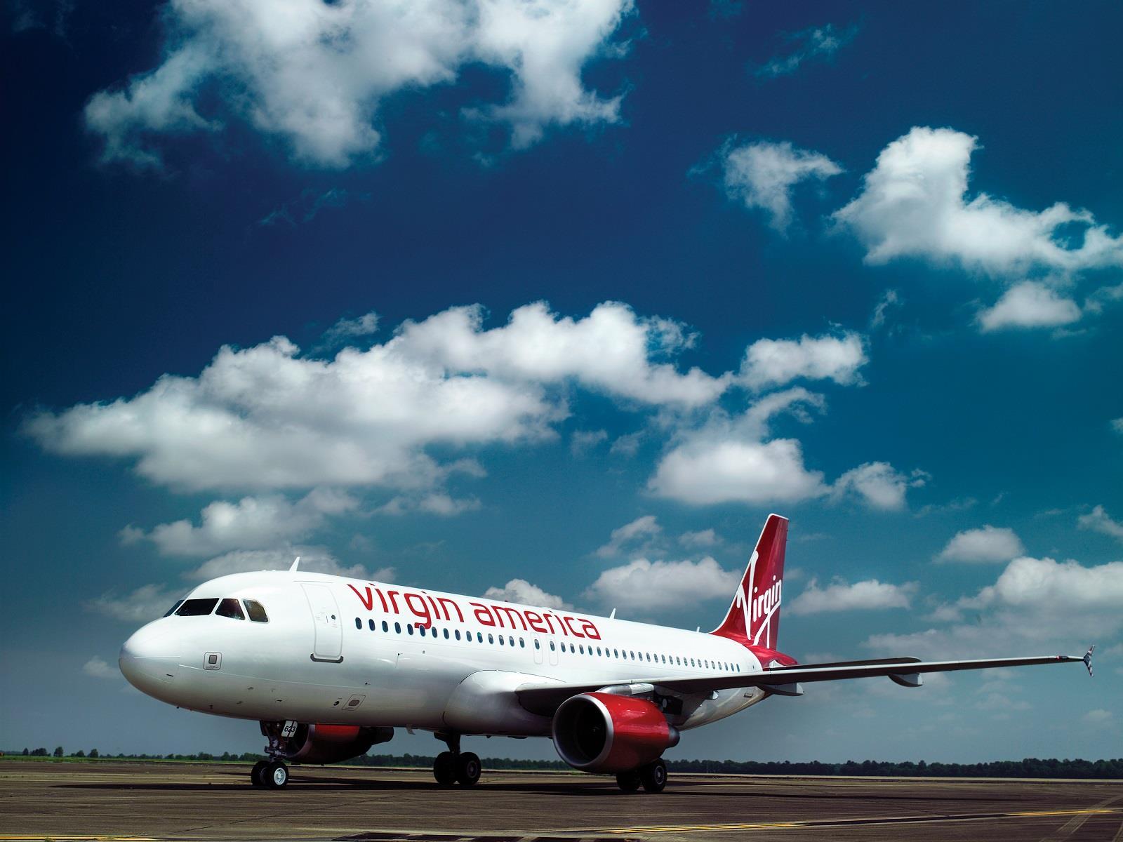 Image: Virgin America plane