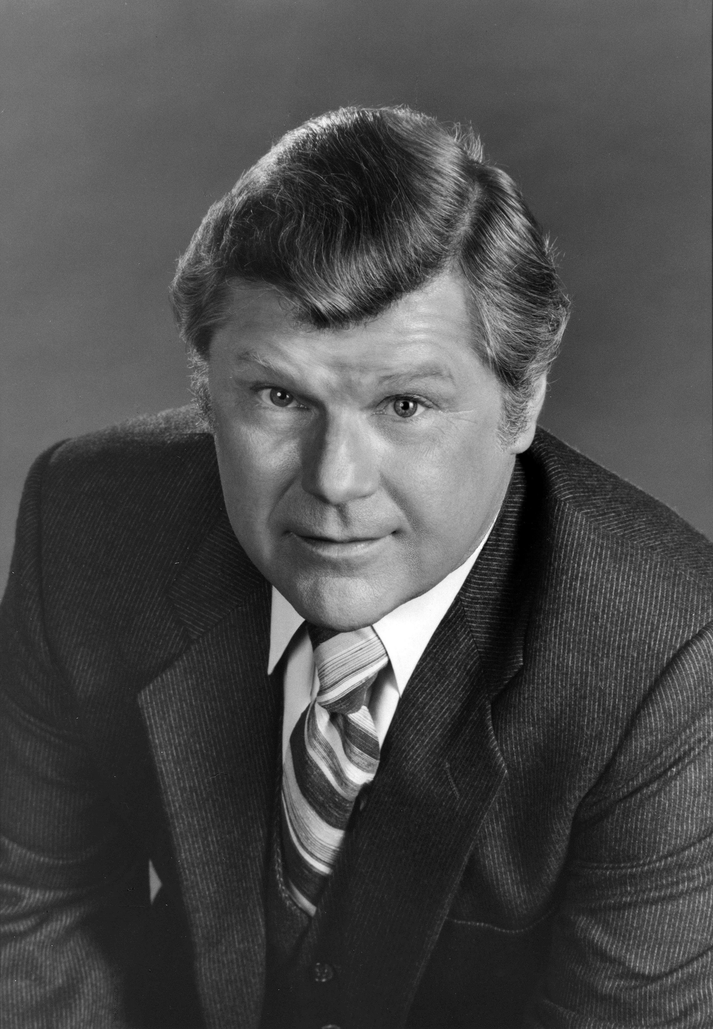 Image: Actor Bob Hastings, a cast member on the daytime series