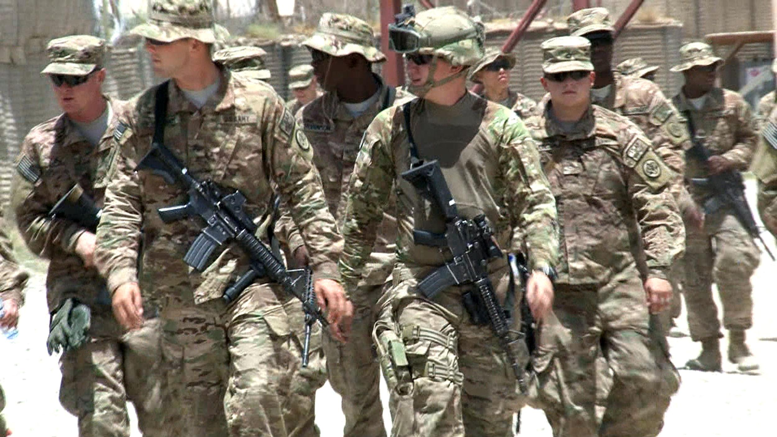 Image: The 3rd Brigade Combat Team, of the 10th Mountain Division