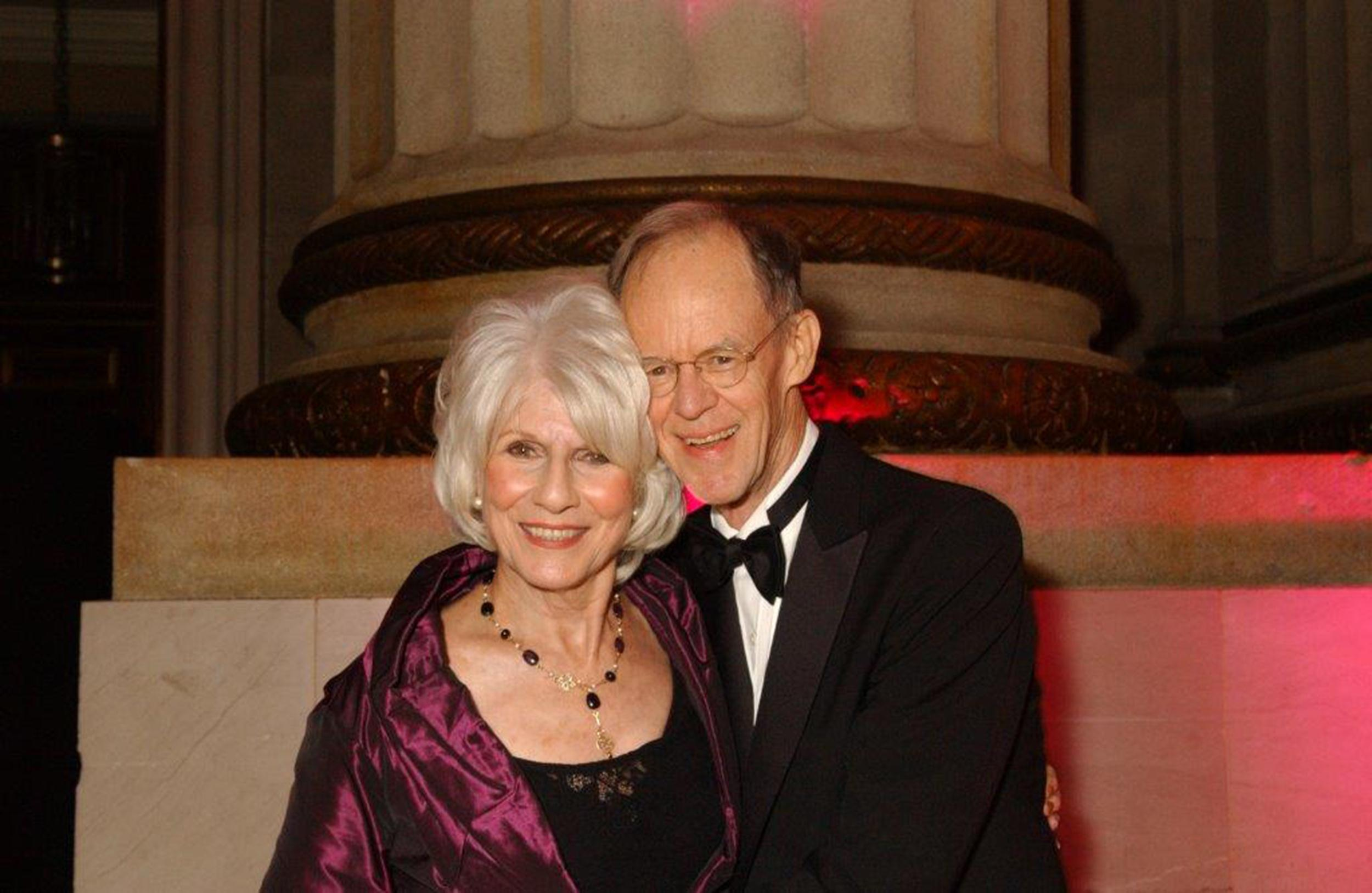 Image: Diane and John Rehm