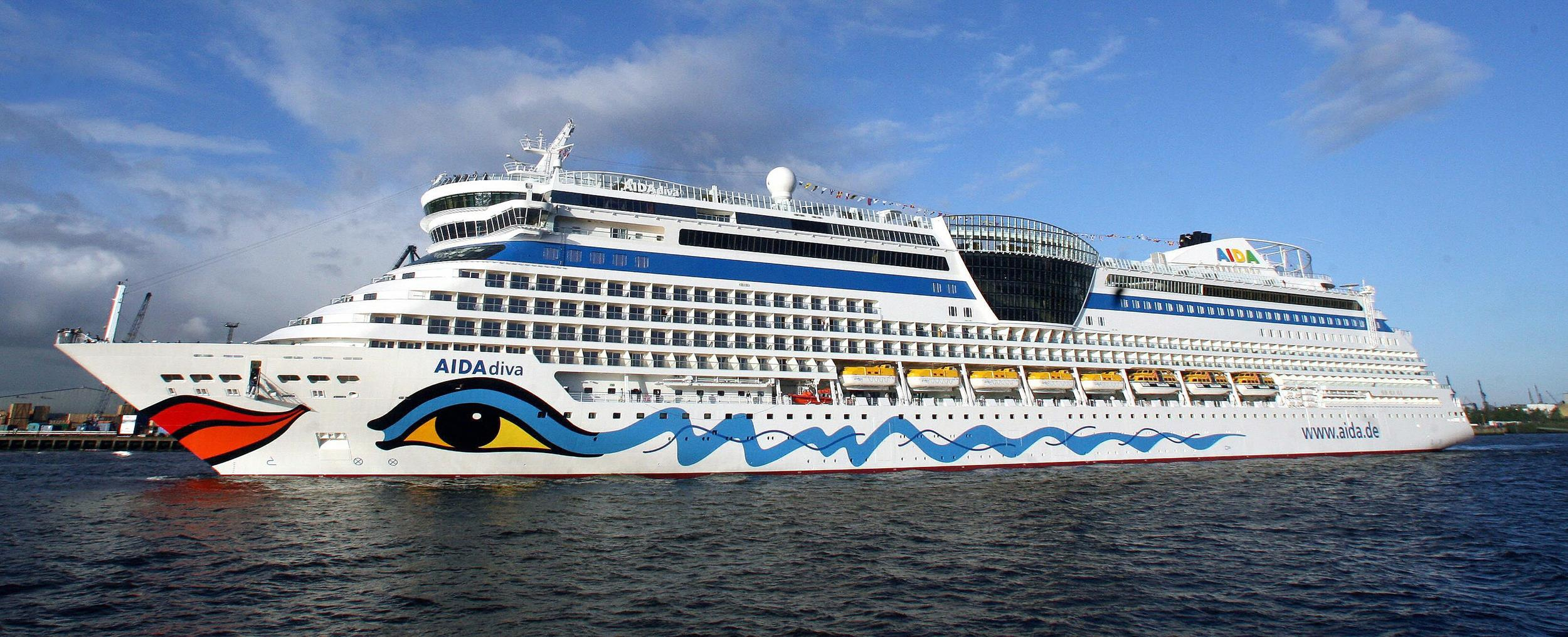 AIDAdiva cruise ship