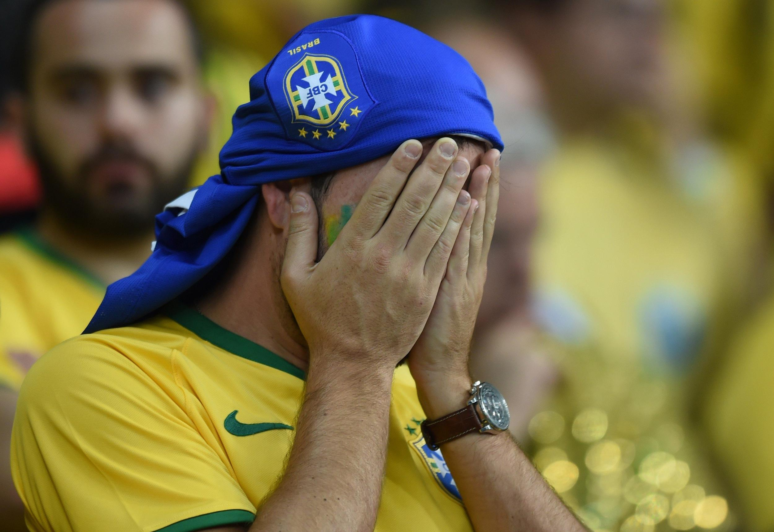 Image: Brazil's 7-1 loss to Germany was a blow to the country's confidence.