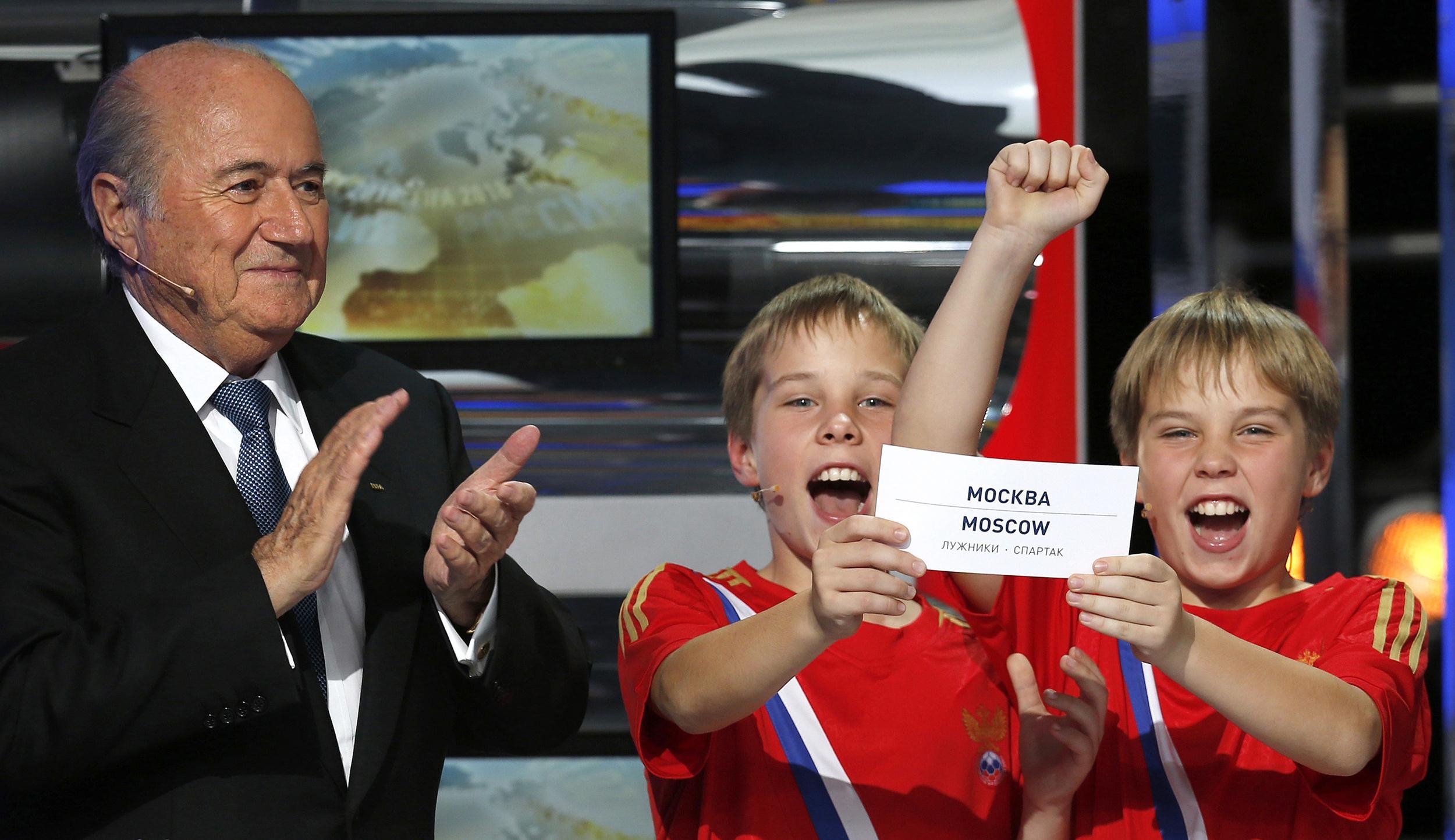 Image: Sepp Blatter