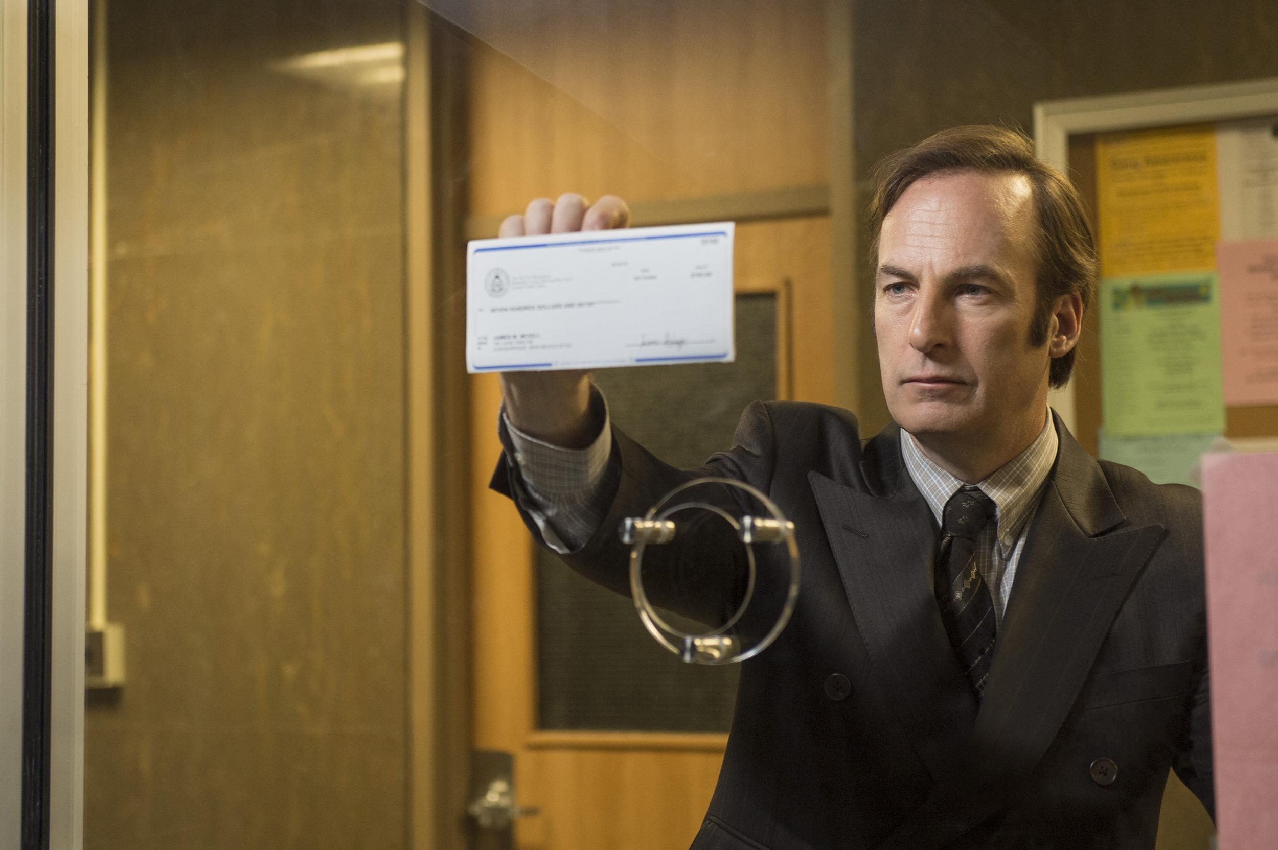 Image: Bob Odenkirk as Saul Goodman in 'Better Call Saul'