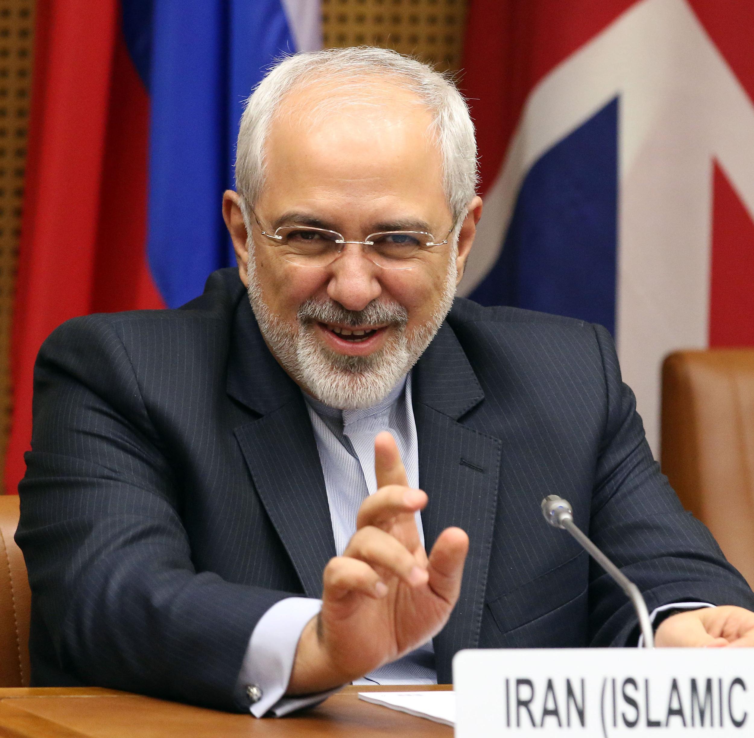 Image: Mohammad Javad Zarif