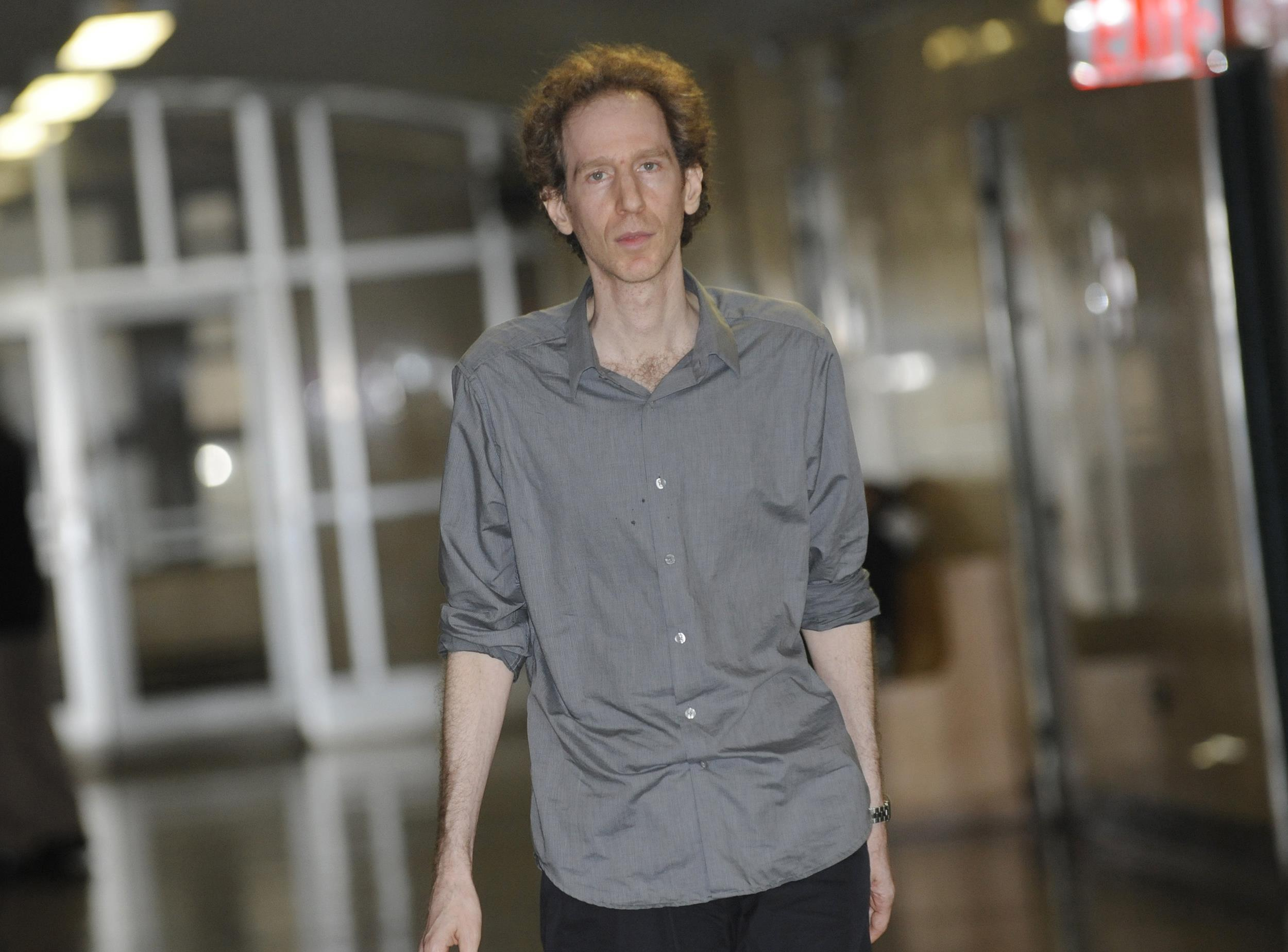 Image: Raphael Golb enters a courtroom in New York on Sept. 27, 2010