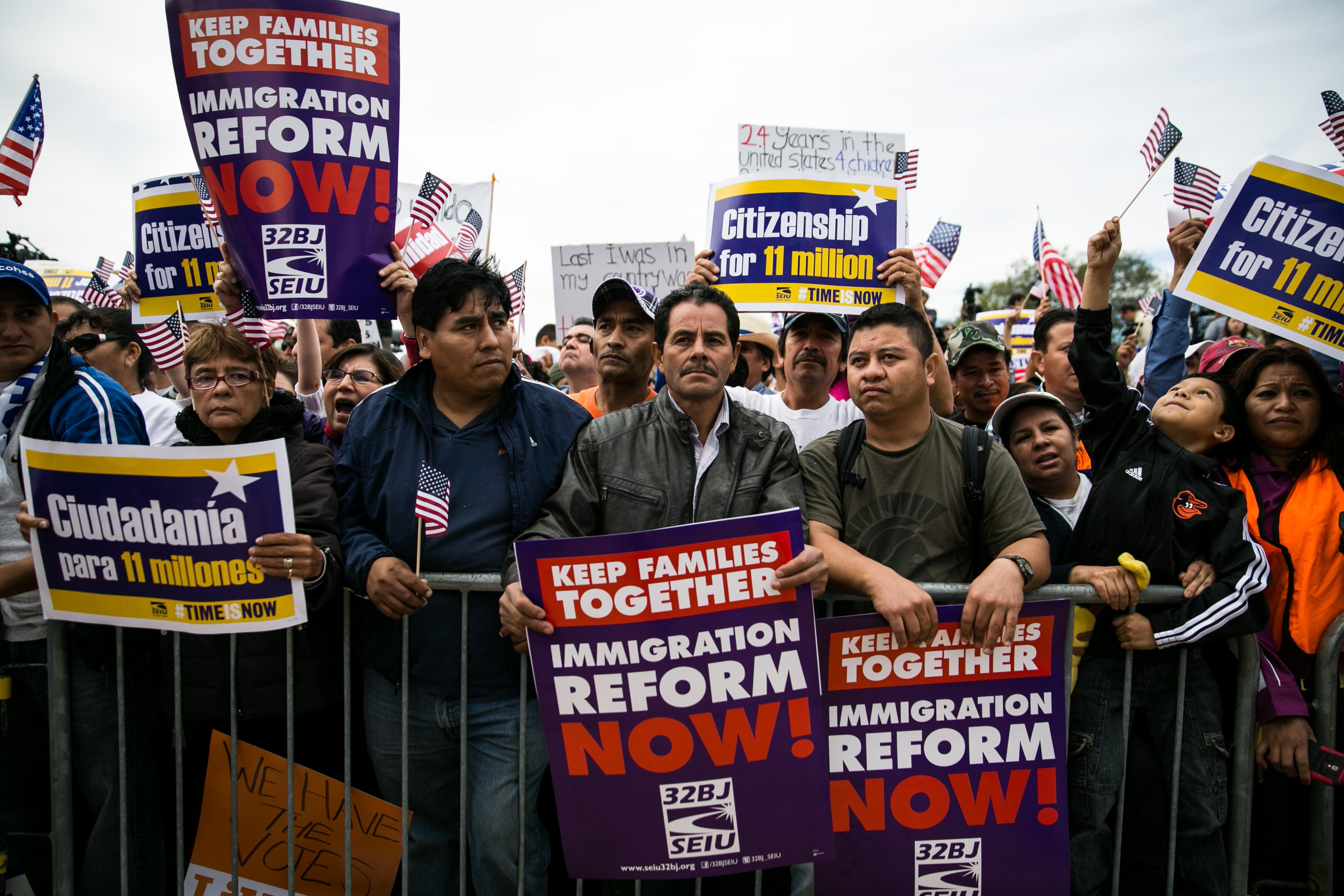 a look at the immigration reform in america A look at the three immigration reform bills in congress ncm, news report, elena shore posted: jul 27, 2005 congress is expected to enact the first major overhaul of immigration policy since 1996.