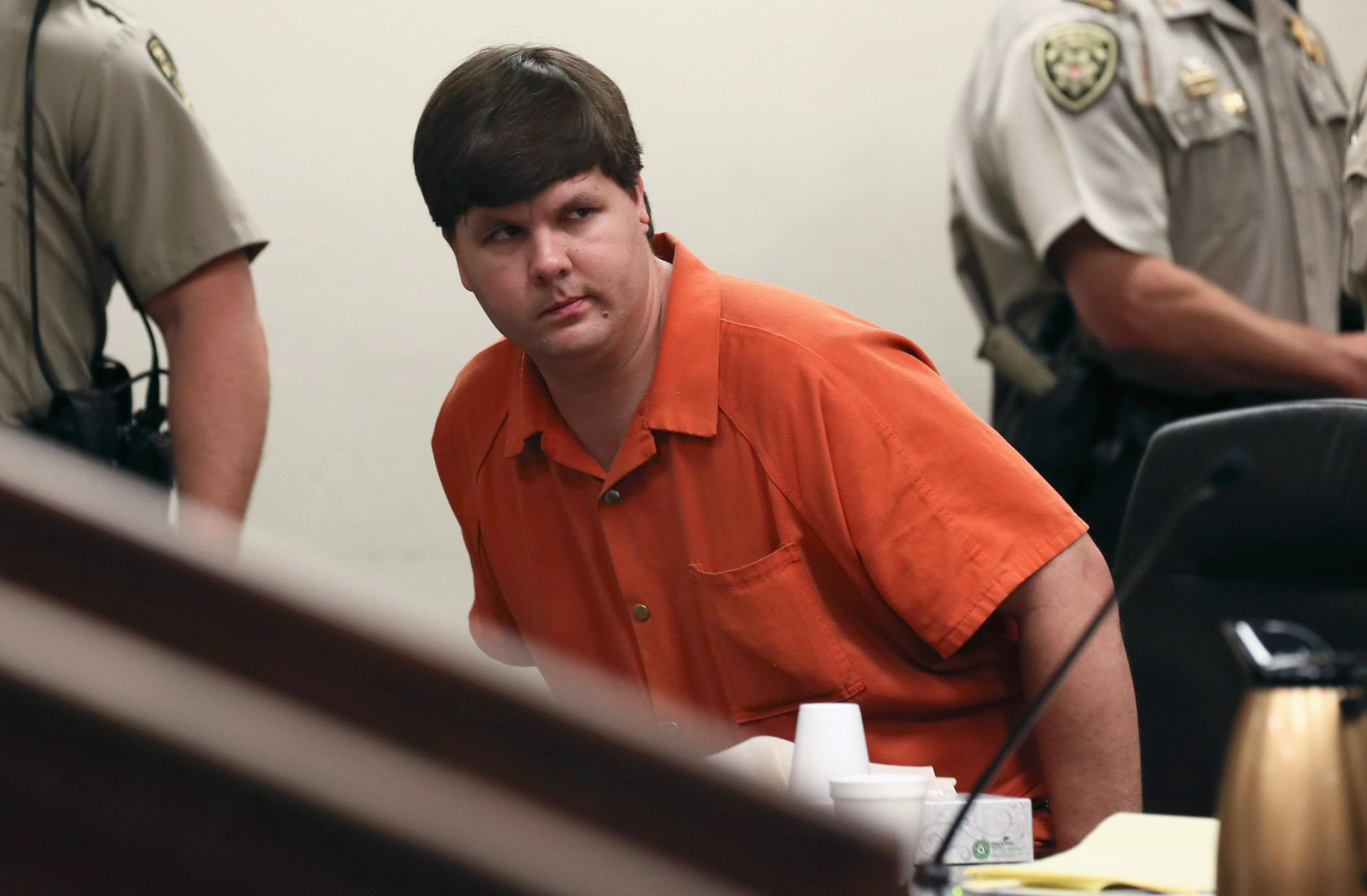 Image: Justin Ross Harris looks on at the Cobb County Magistrate Court in Marietta, Ga.