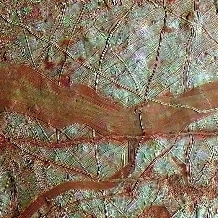 Image: Europa surface