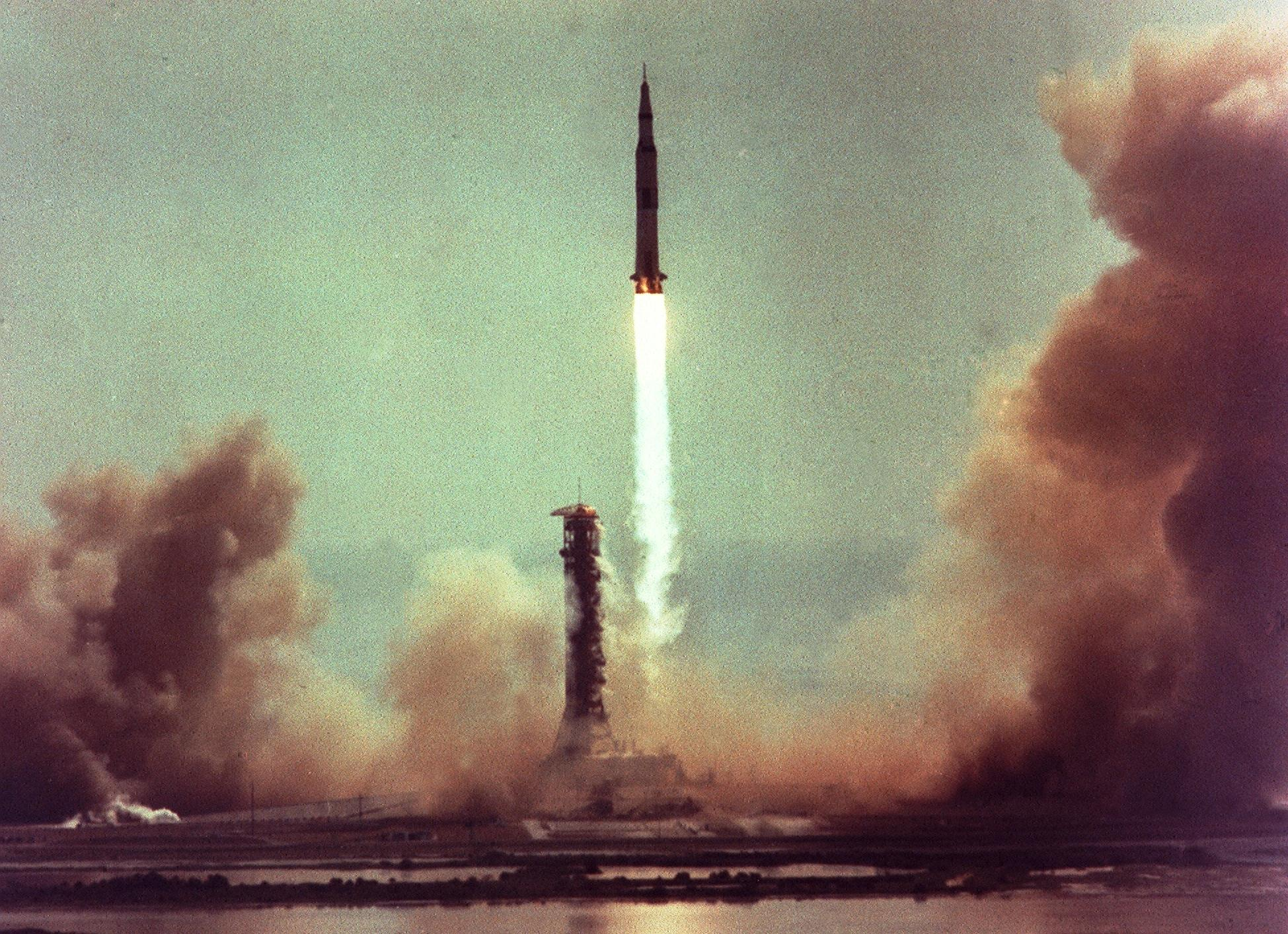 Image: Apollo 11 launch