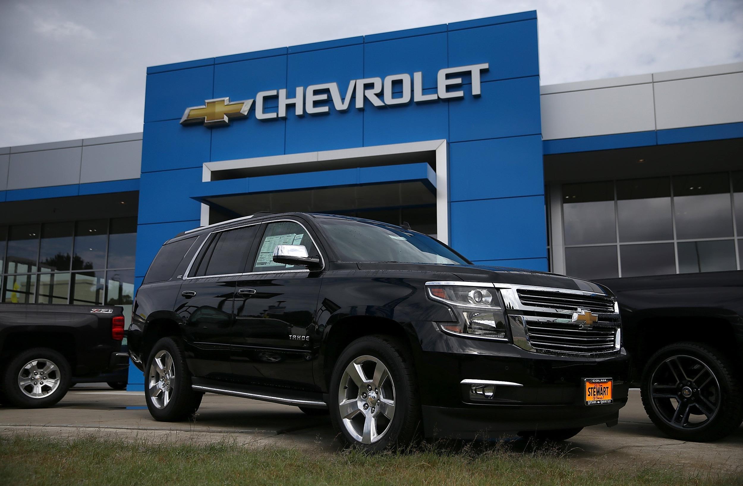 Image: Chevrolet Tahoe