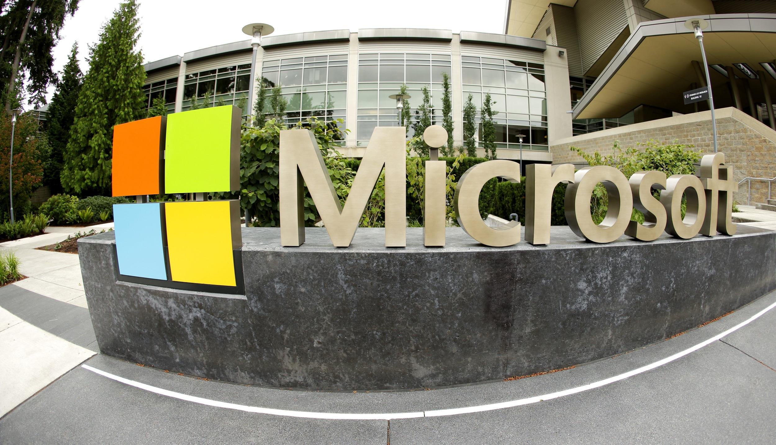 Microsoft announced it will lay off up to 18,000 workers over the next year.